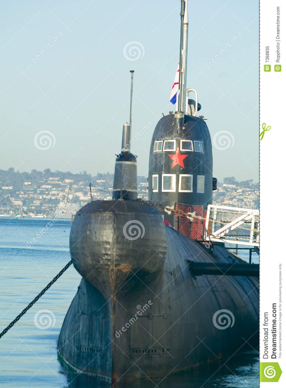 Submarine Russian Attack Boat Stock Image - Image: 7368835