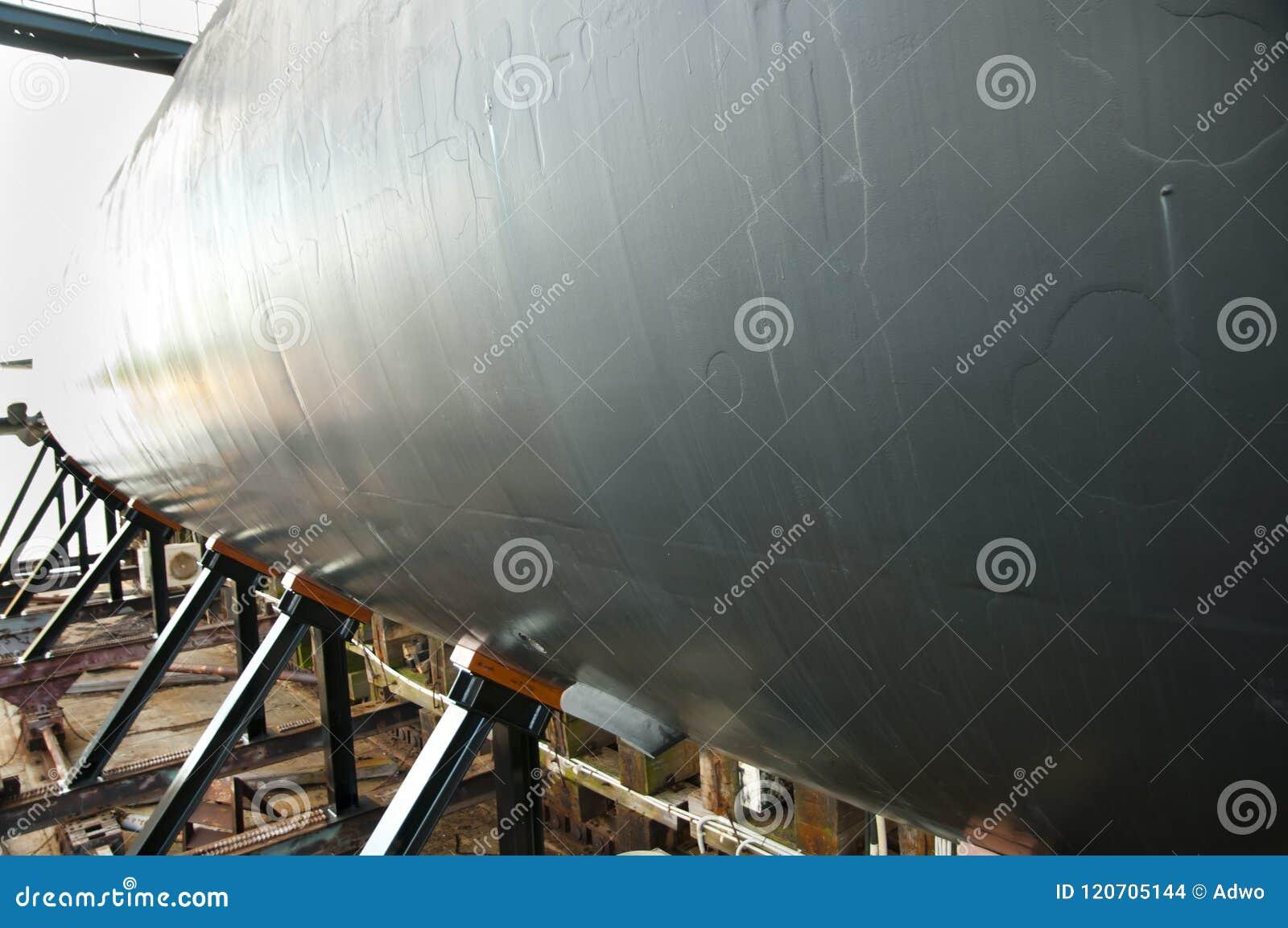 Submarine in Shipyard