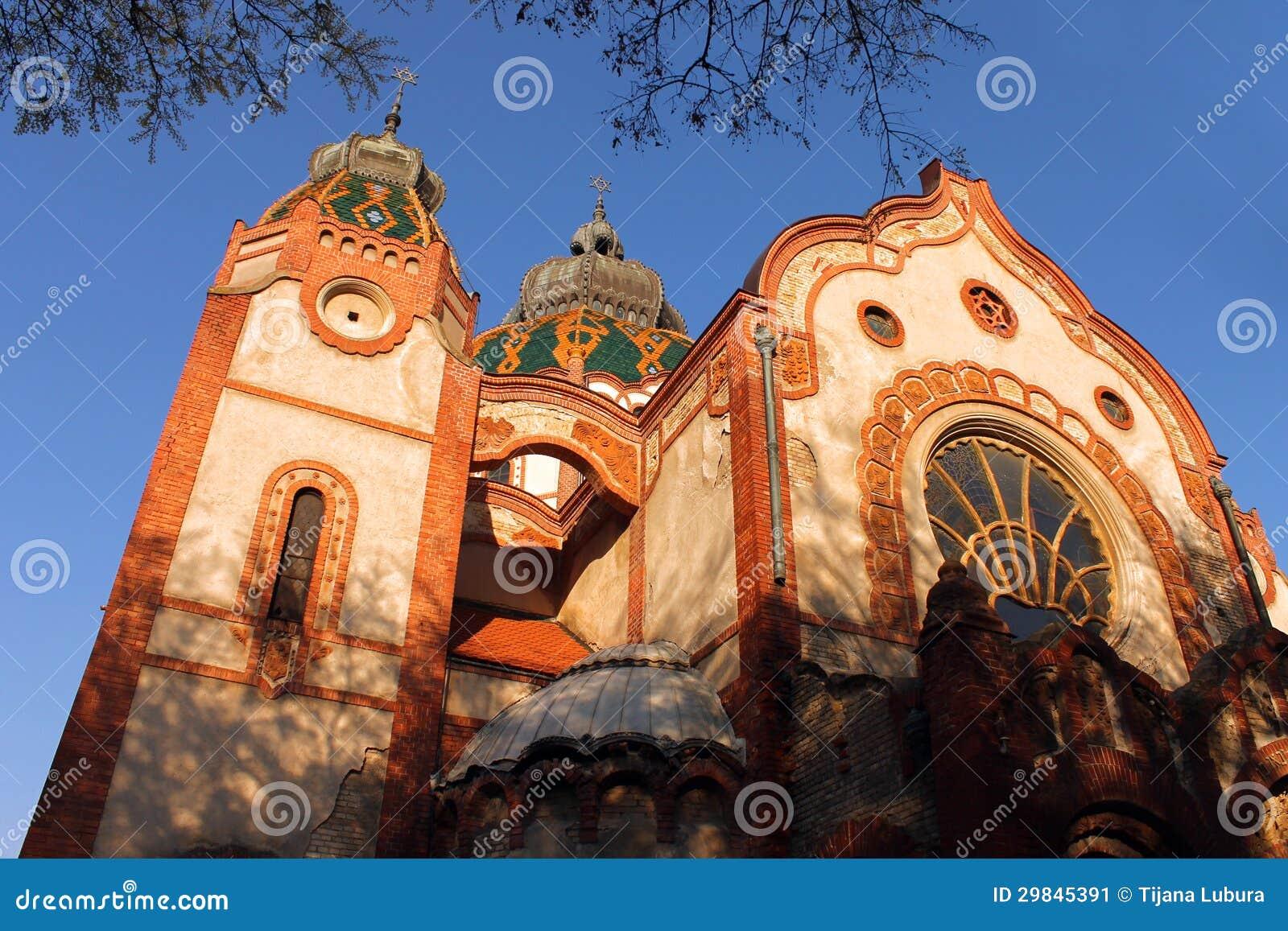 Sinagoga em Subotica, Vojvodina, Serbia