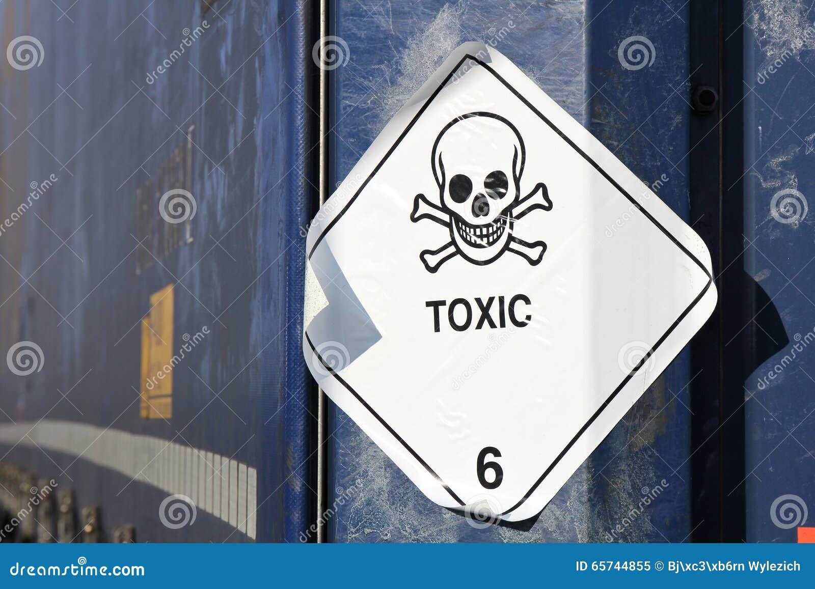 Substâncias tóxicas