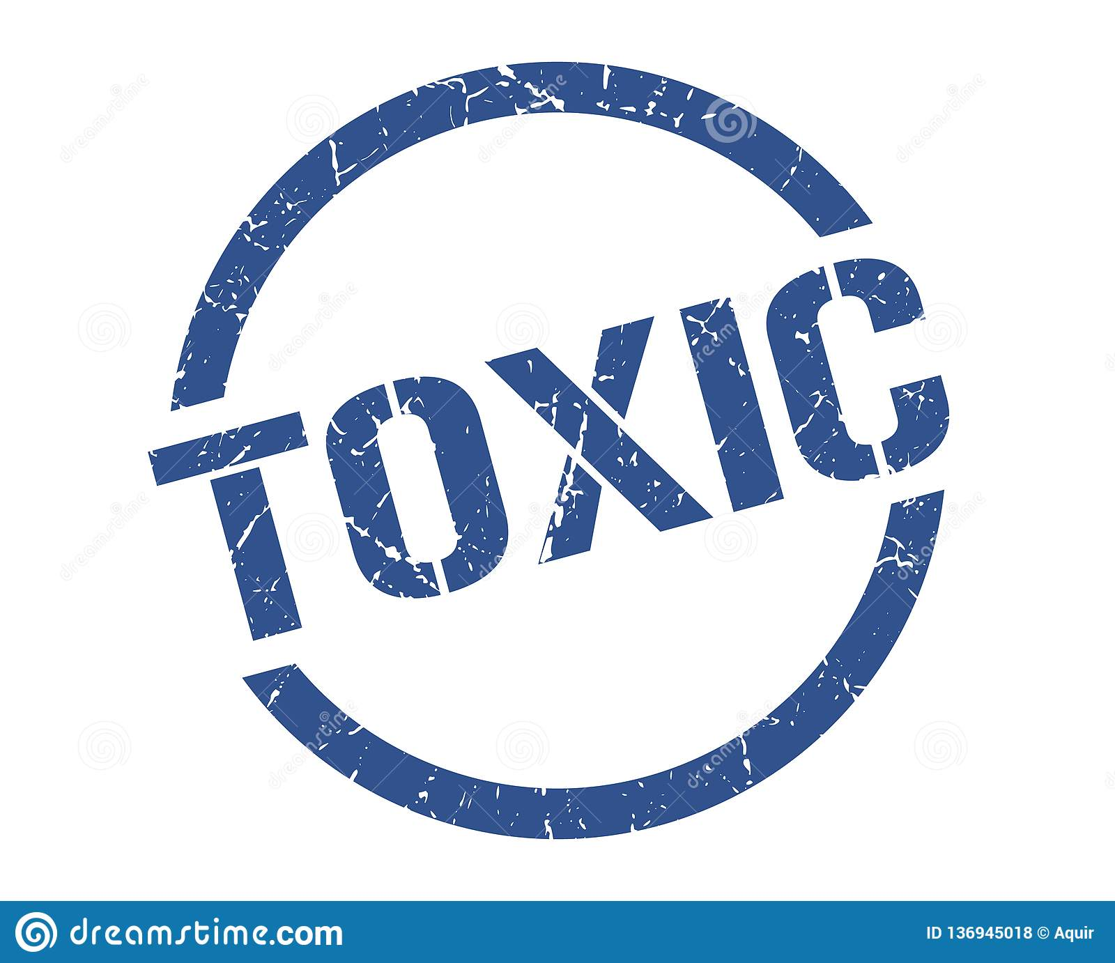 Substancja toksyczna znaczek