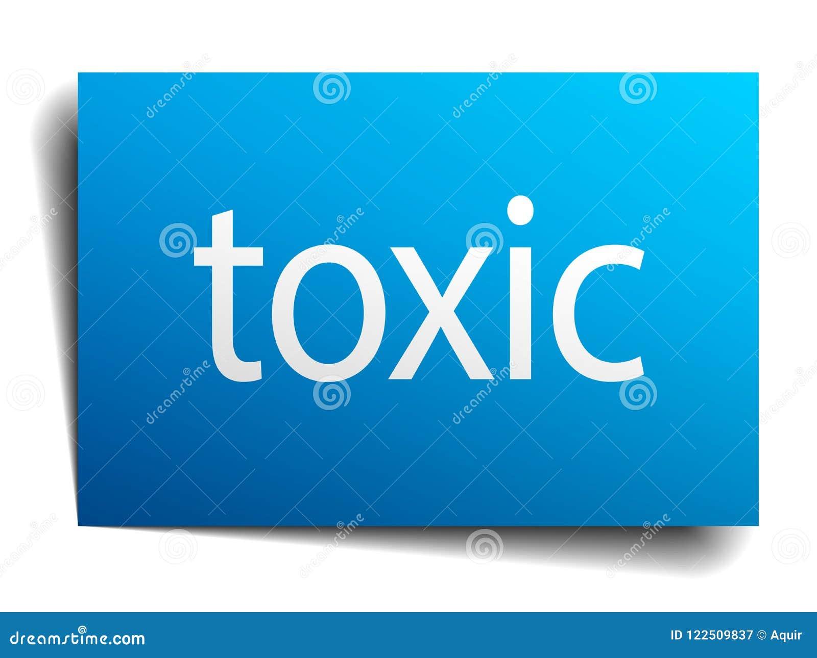 Substancja toksyczna znak