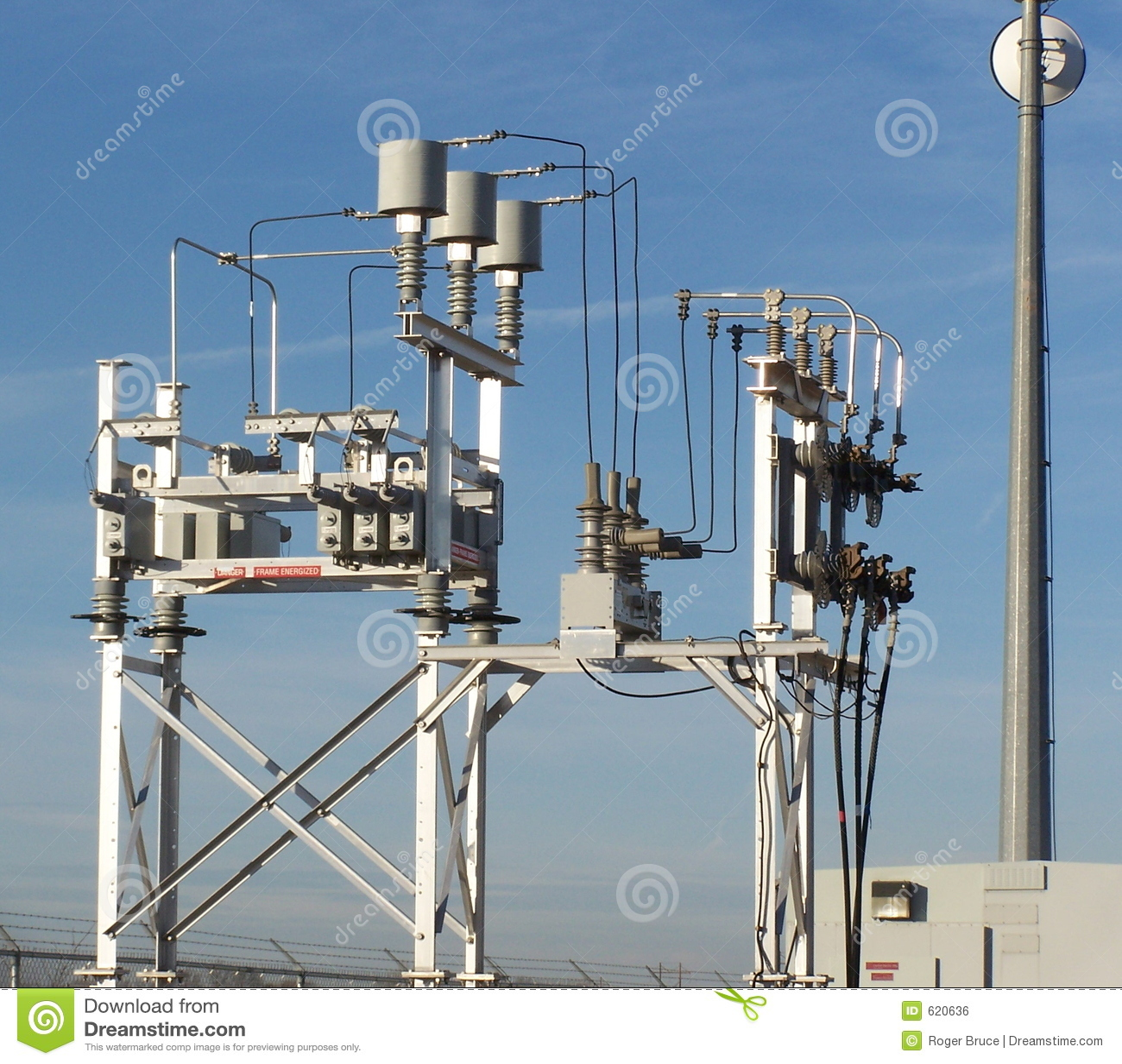 Substation Equipment Stock Photo Image Of Transformer