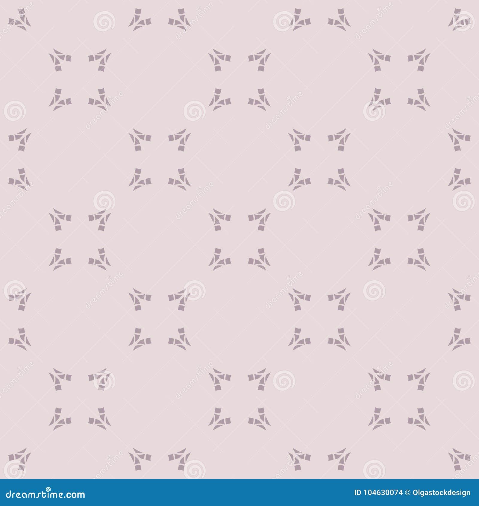 Download Subtiel Naadloos Patroon Met Kleine Gebogen Vormen, Vierkanten Vector Illustratie - Illustratie bestaande uit canvas, stof: 104630074