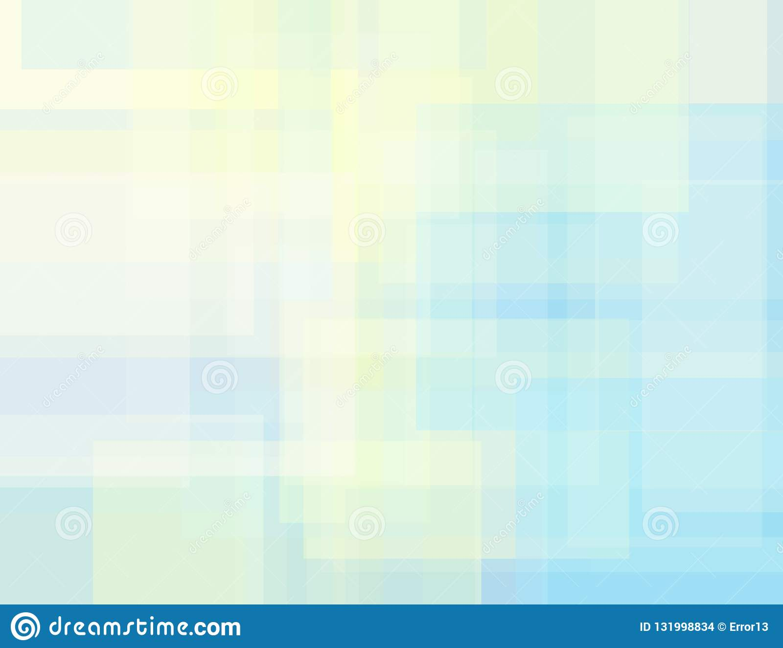 Subtle geometric background with cream and pale blue rectangles