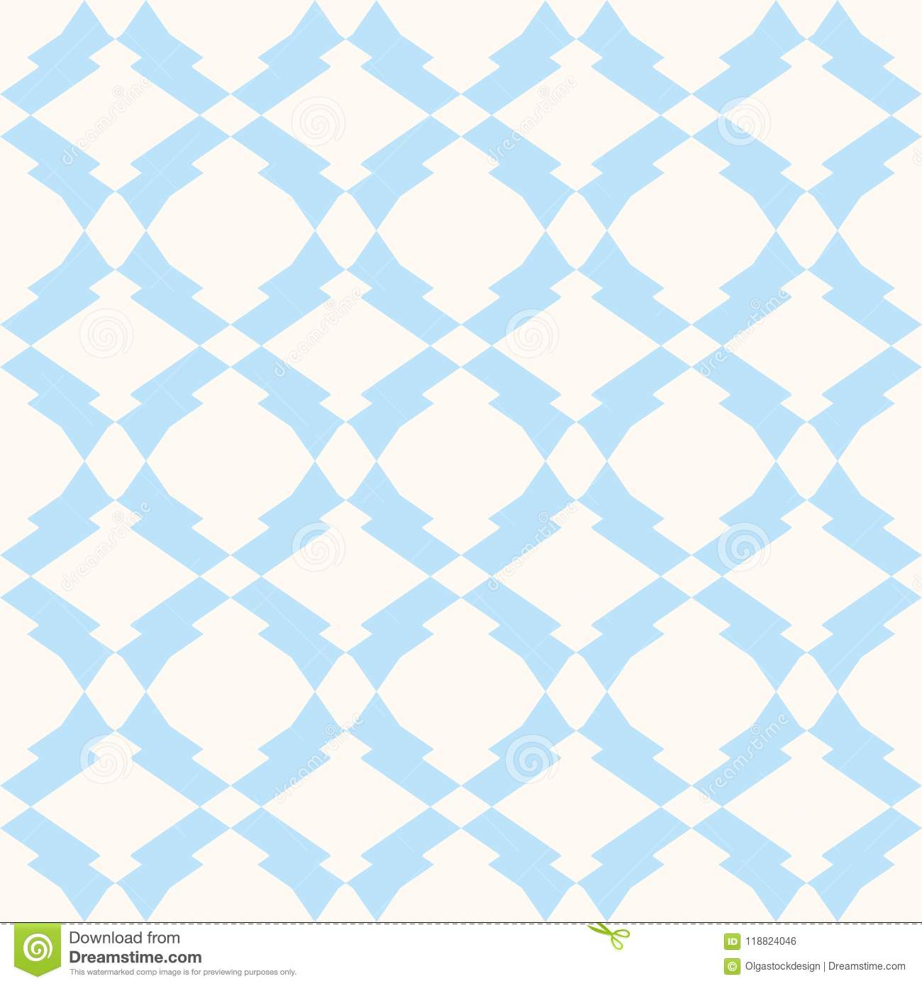 Subtle seamless pattern in white and light blue colors. Delicate ornament background.