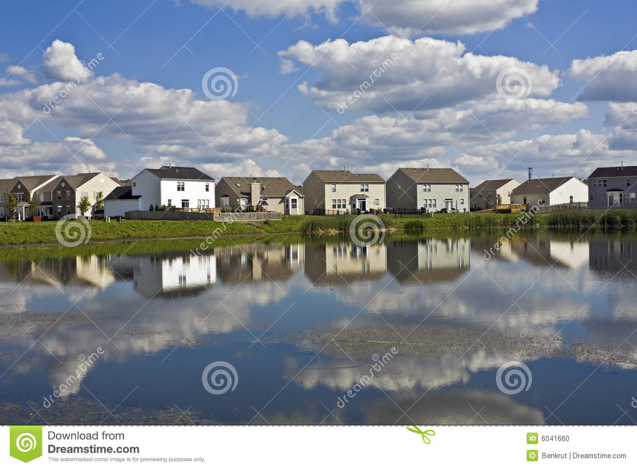 Stock Photo: Suburban community: https://www.dreamstime.com/stock-photo-suburban-community-image6041660