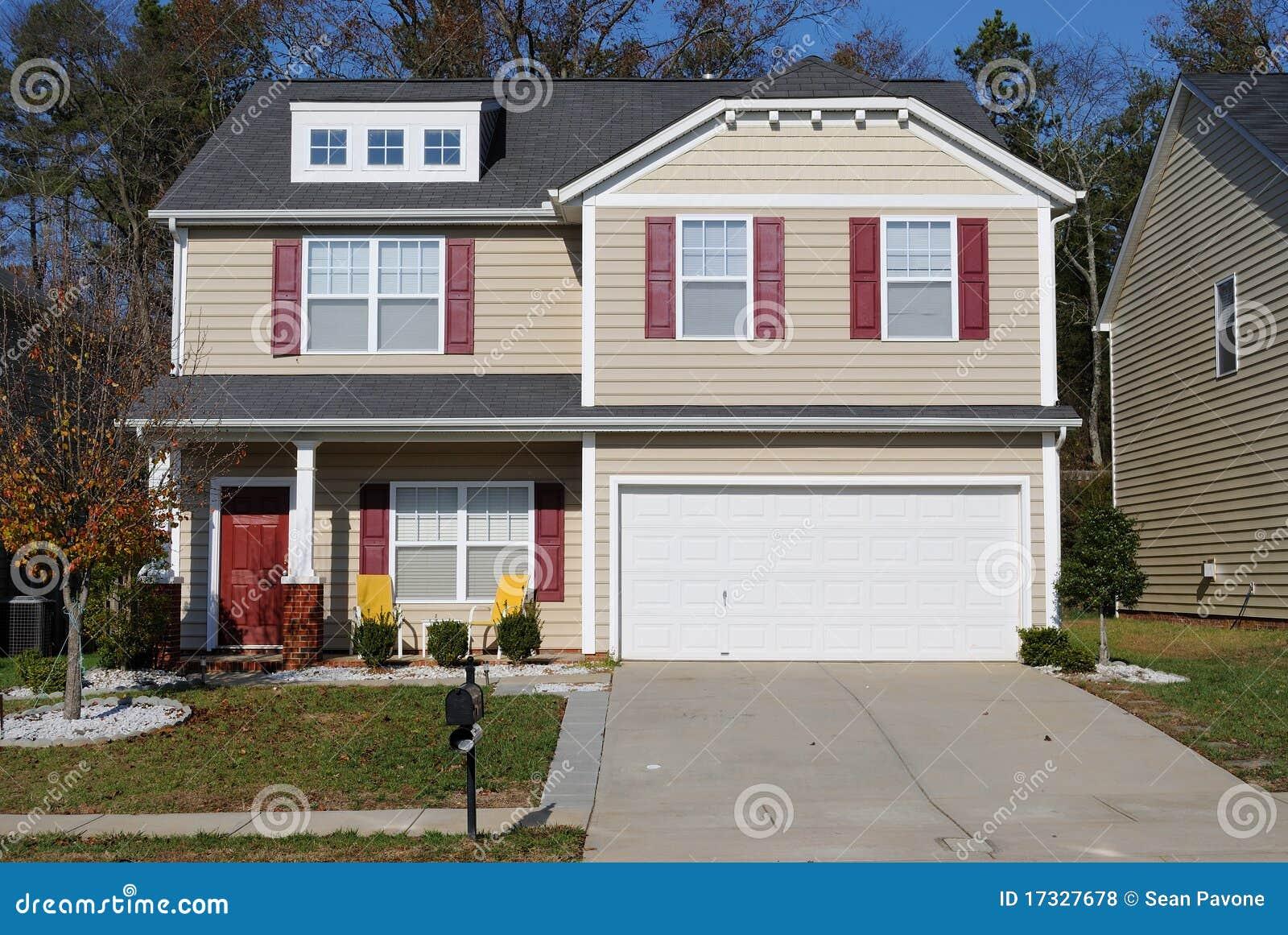 Suburban Home Royalty Free Stock Photos Image 17327678