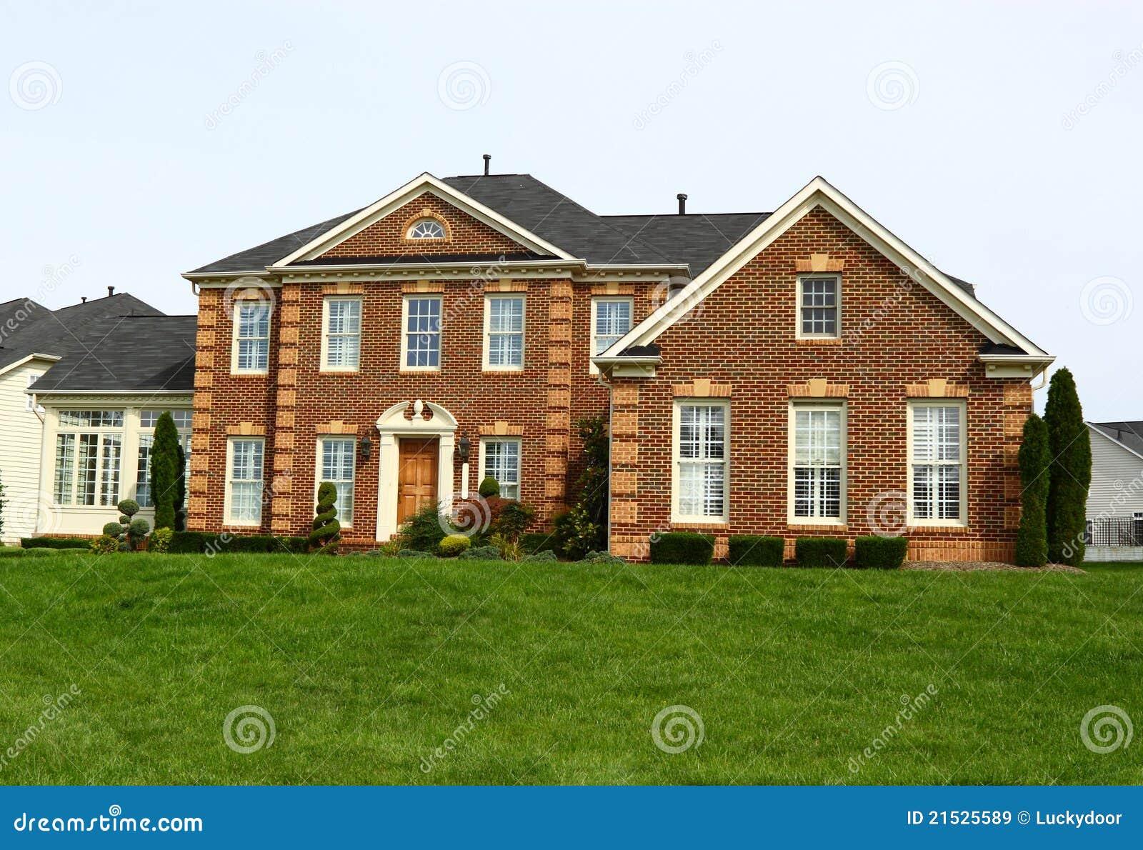 Suburban House Royalty Free Stock Images Image 21525589