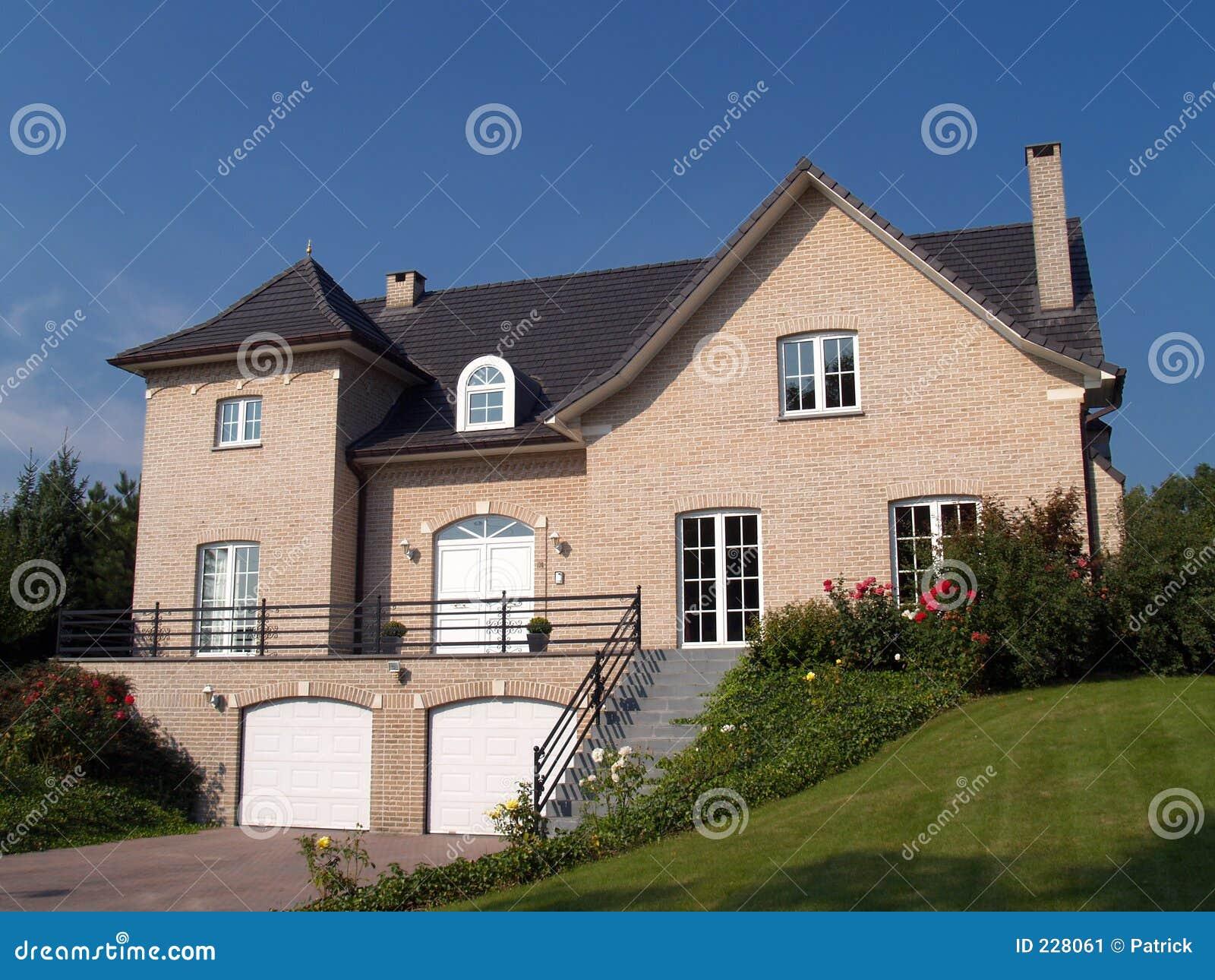 Suburban House Stock Image Image 228061
