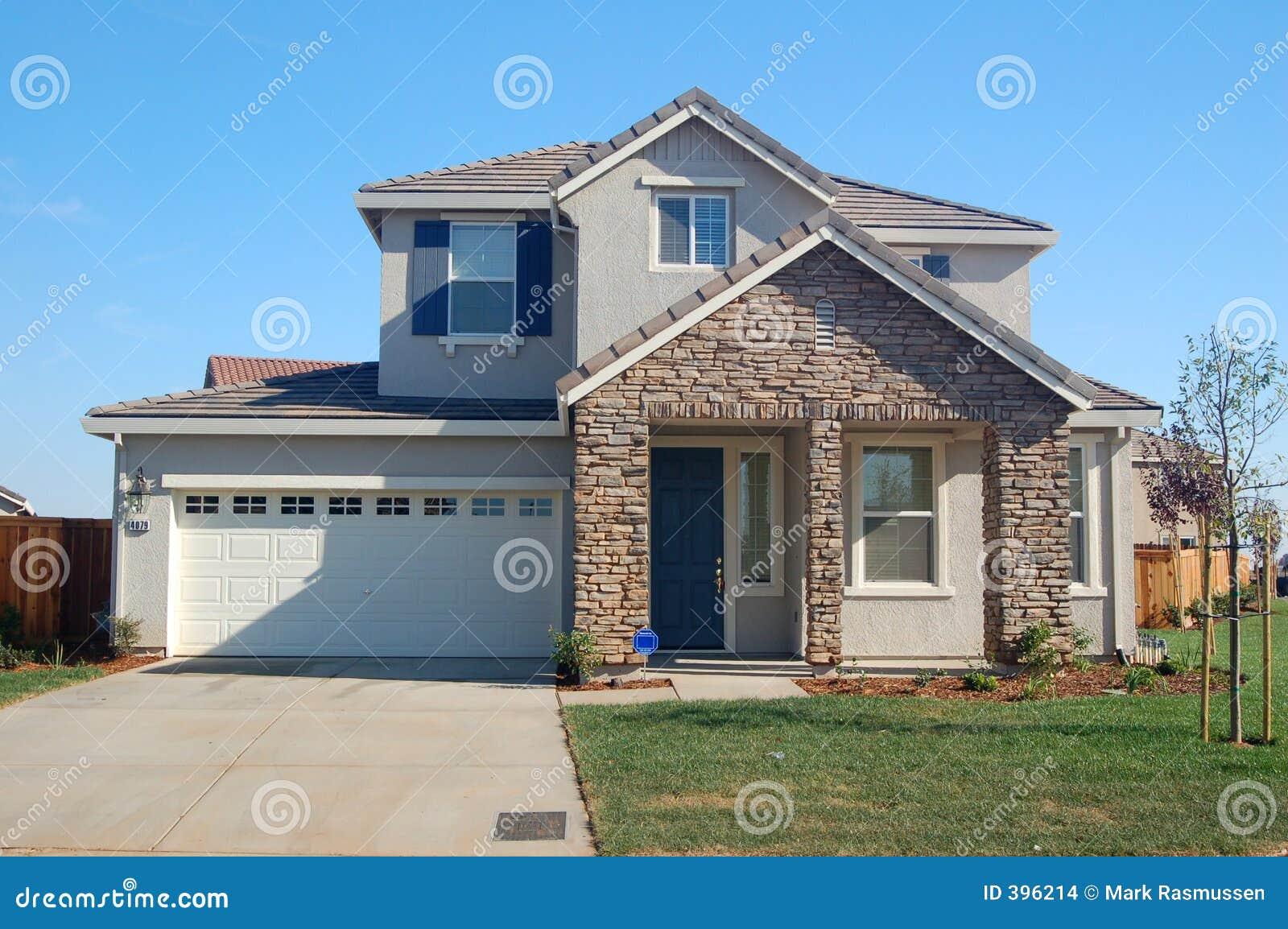 suburban house stock photo image of carpentry build residence