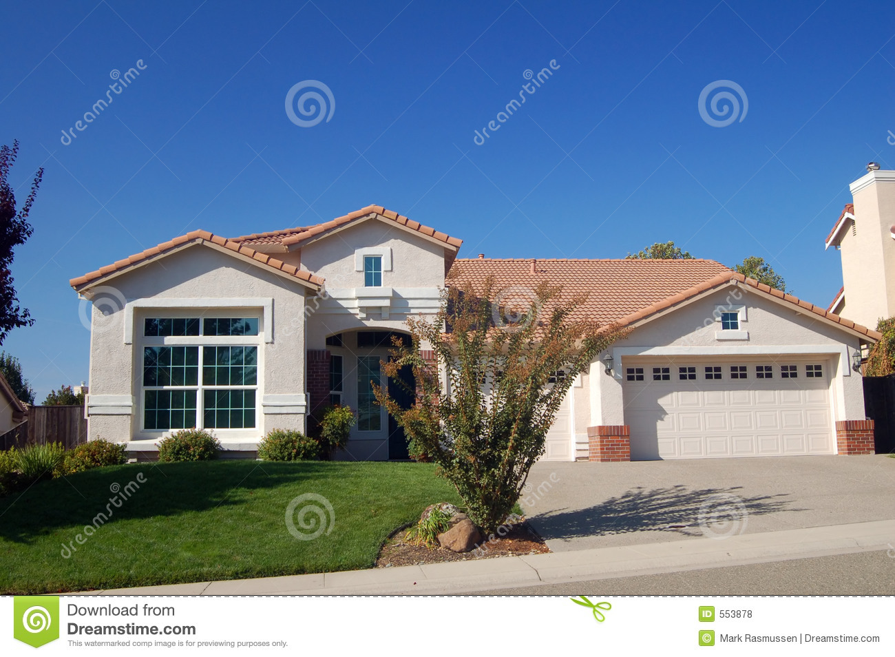 Suburban house royalty free stock photos image 553878 for Free house photos