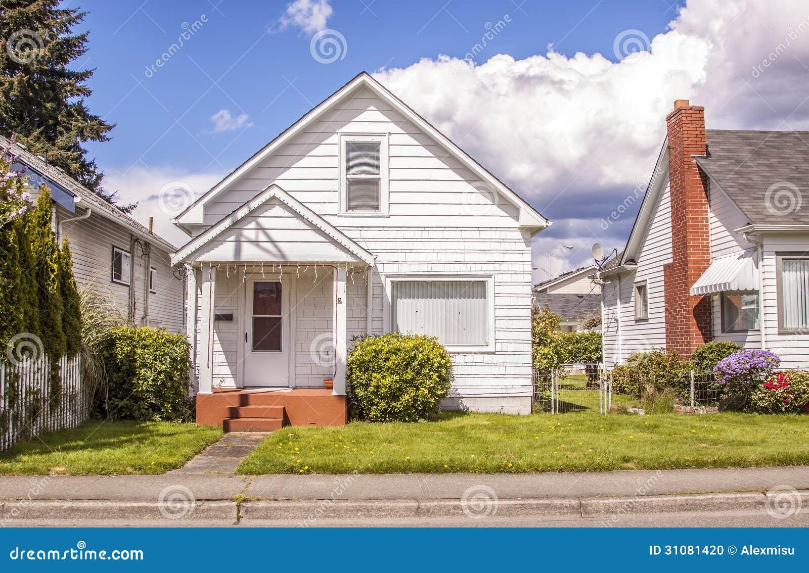 Suburban House Stock Photo Image 31081420