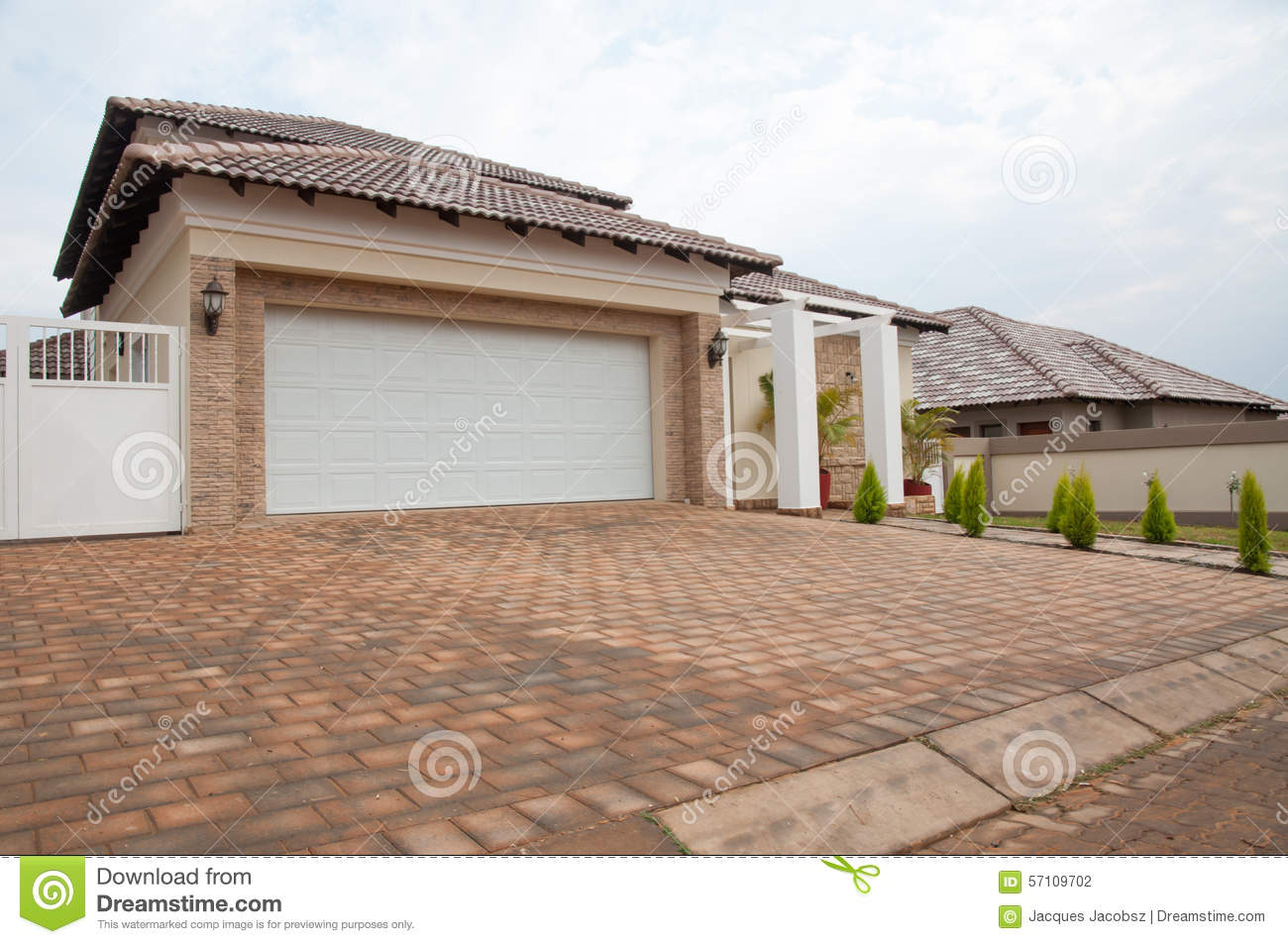 Suburban House For Sale Stock Photo Image Of Roof Selling