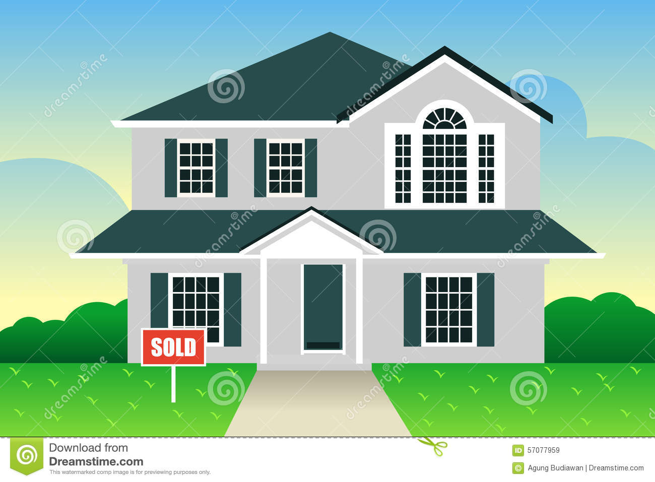 free clipart house for sale - photo #41