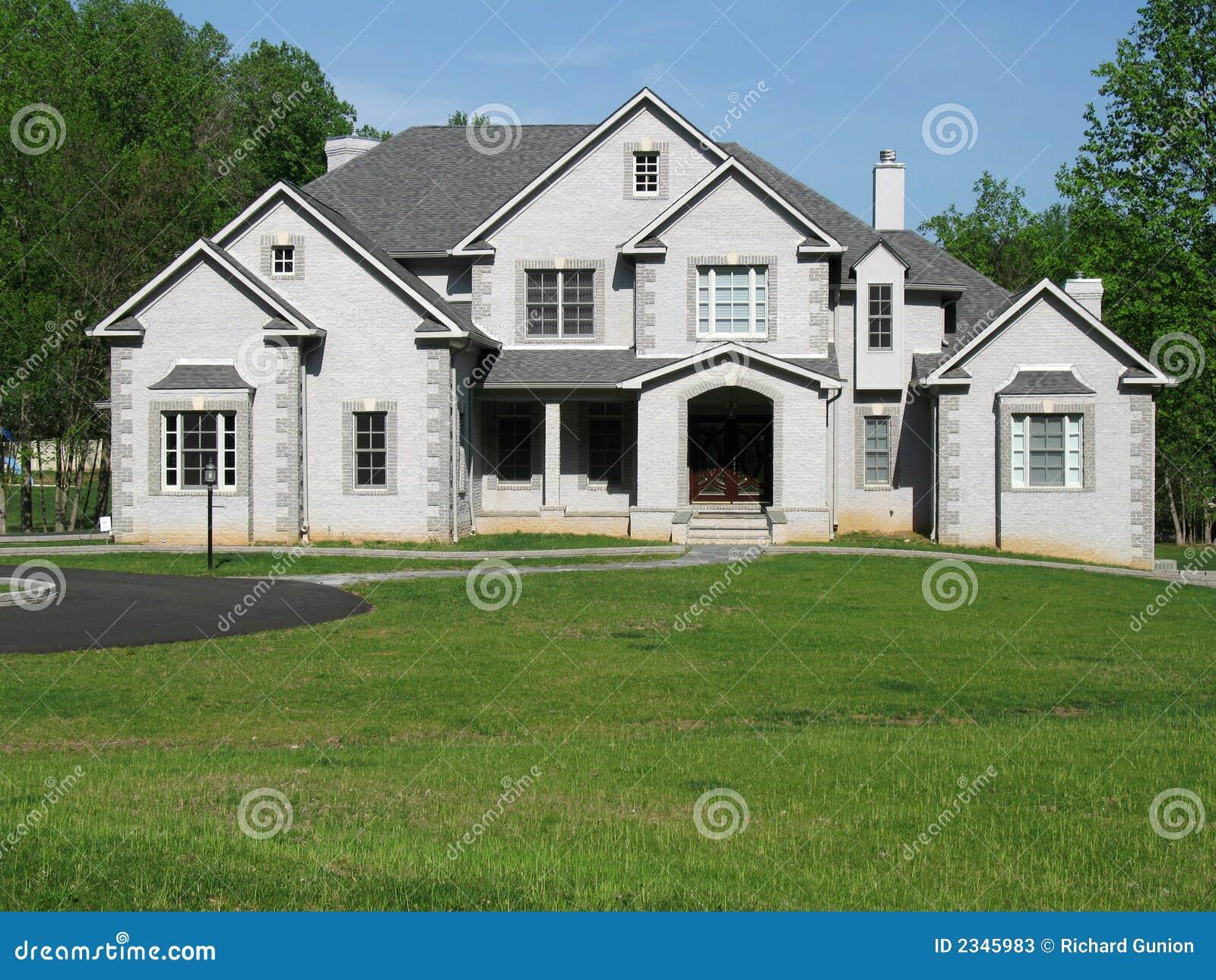 Suburban Seats 9 >> Suburban Mansion stock image. Image of mansion, estate - 2345983