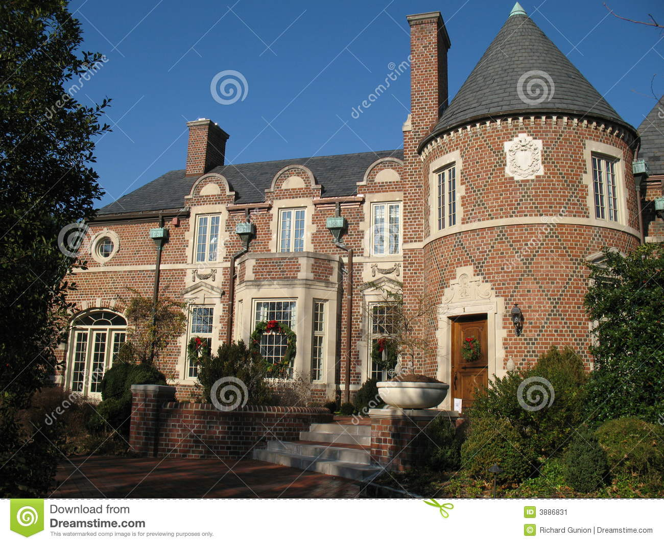 Suburban mansion stock image image 3886831 House map online free