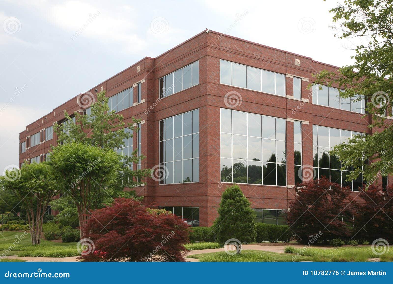 Suburban office building