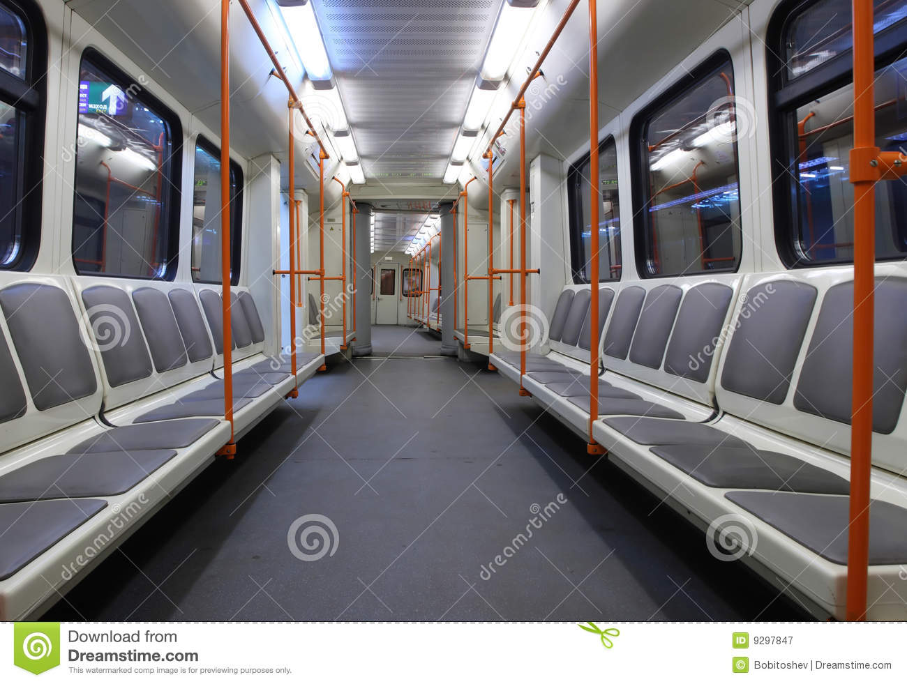 subway car royalty free stock photography image 9297847. Black Bedroom Furniture Sets. Home Design Ideas