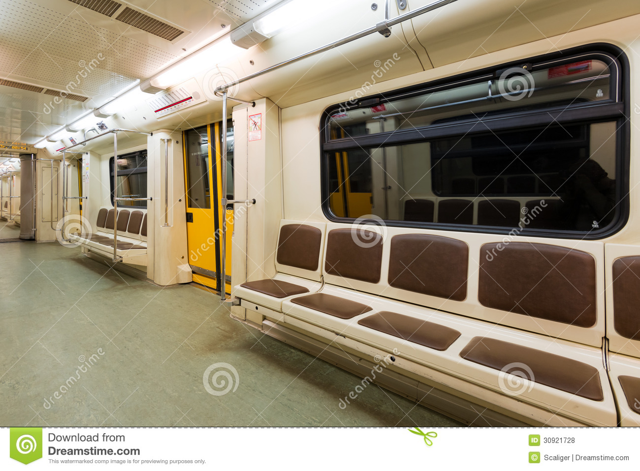 subway car stock photo image of column motion armchair 30921728
