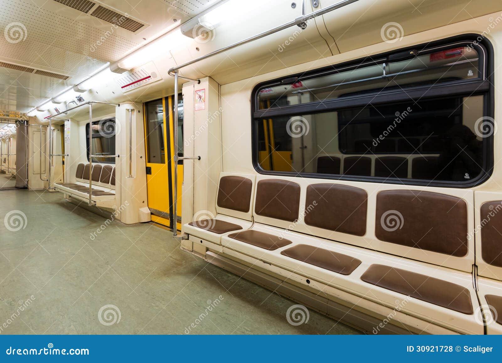 Subway Car Royalty Free Stock Photos Image 30921728