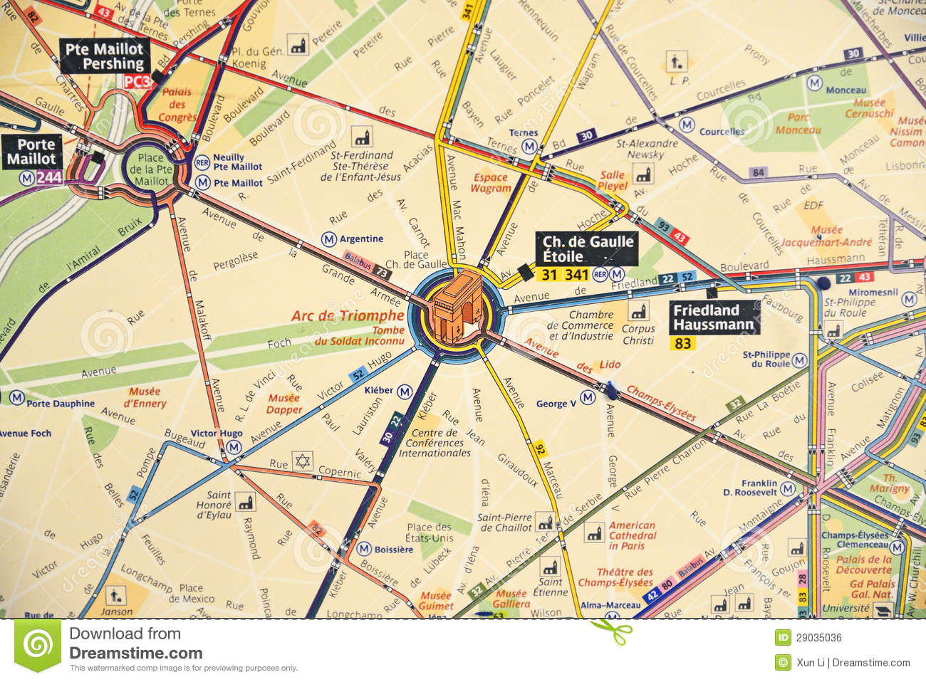 Subway map of paris stock photo. Image of building, transfer - 29035036