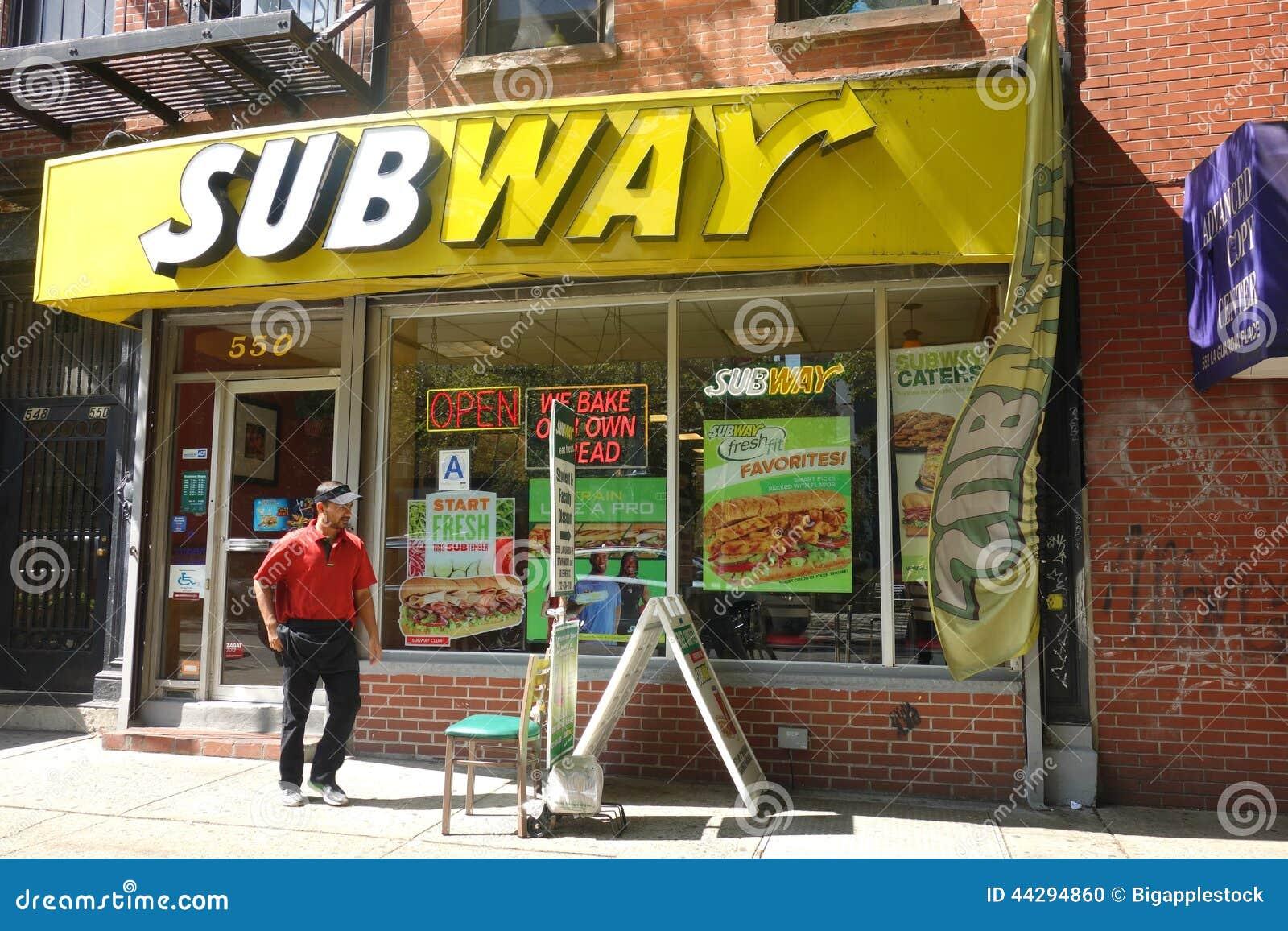 Downtown Subway Restaurant