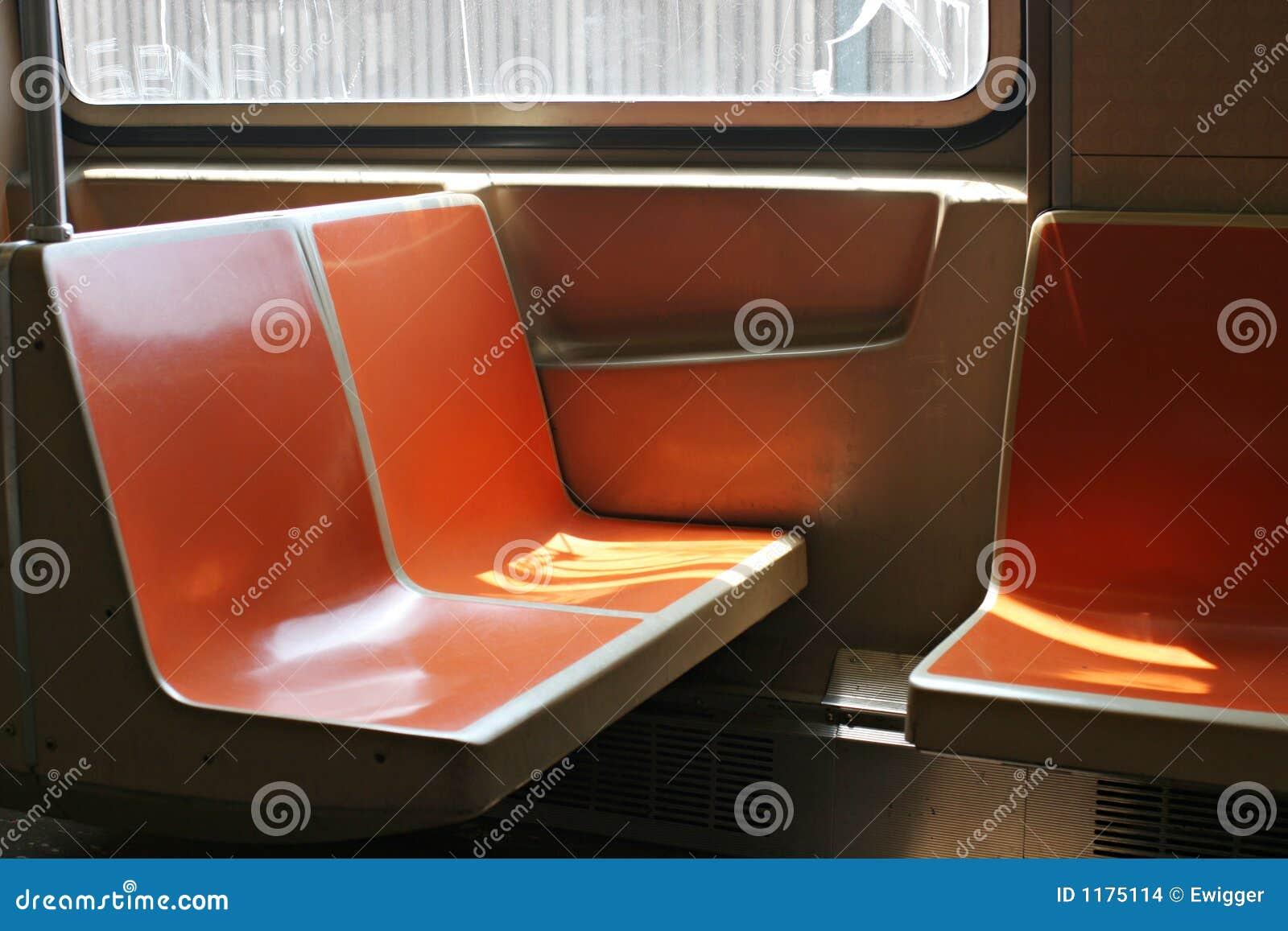subway seats stock images image 1175114. Black Bedroom Furniture Sets. Home Design Ideas