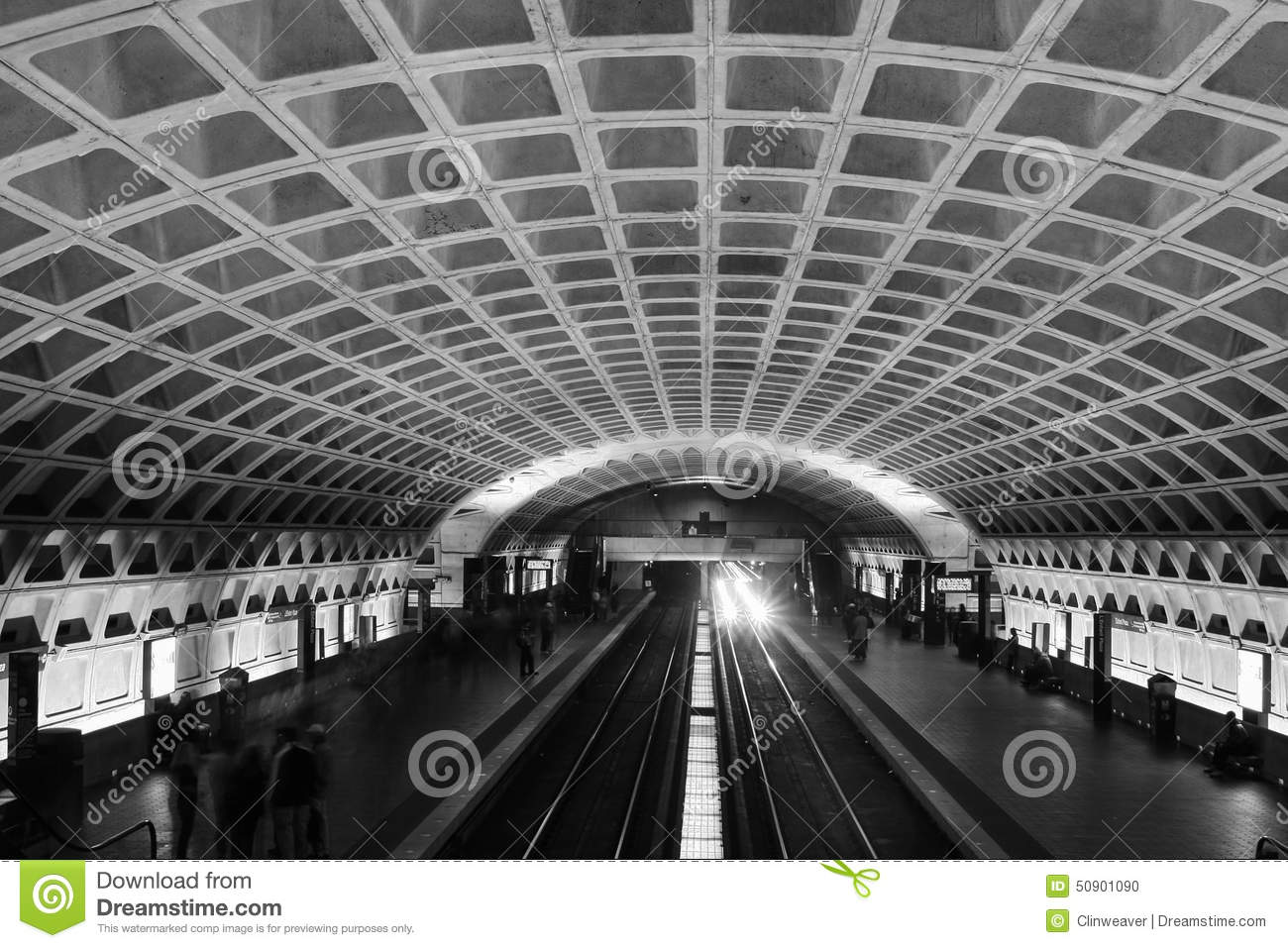 Black And White Subway Station Pictures To Pin On