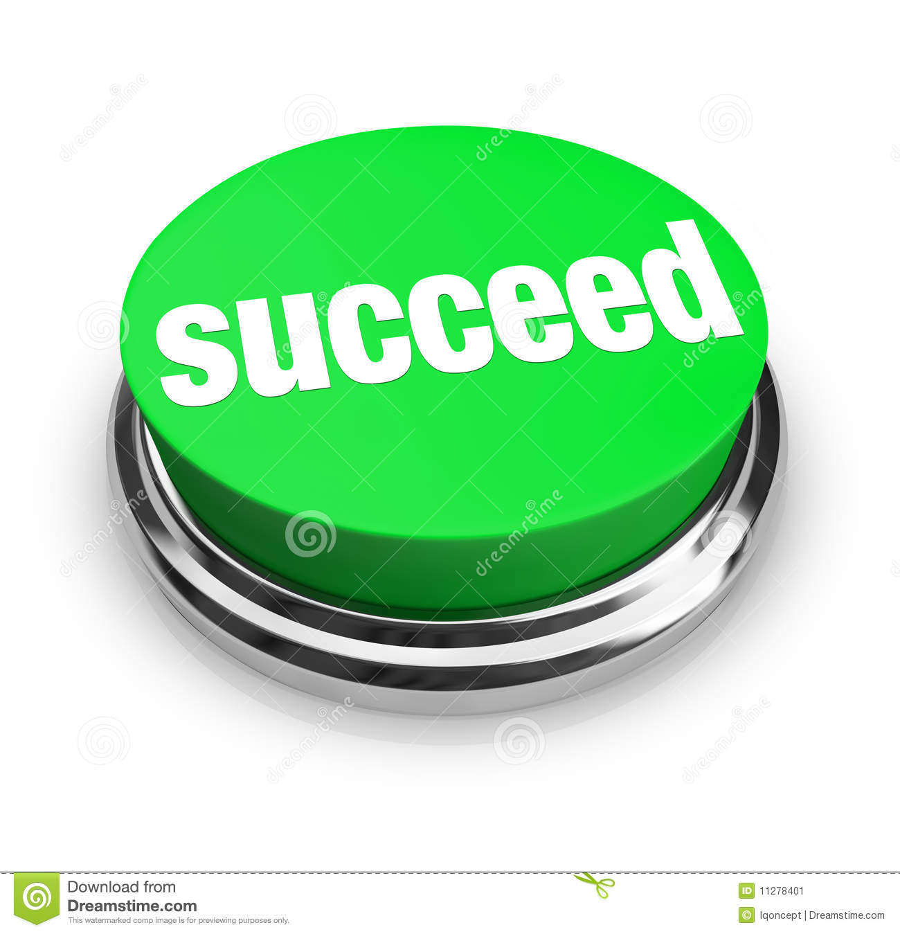 Succeed - Green Button