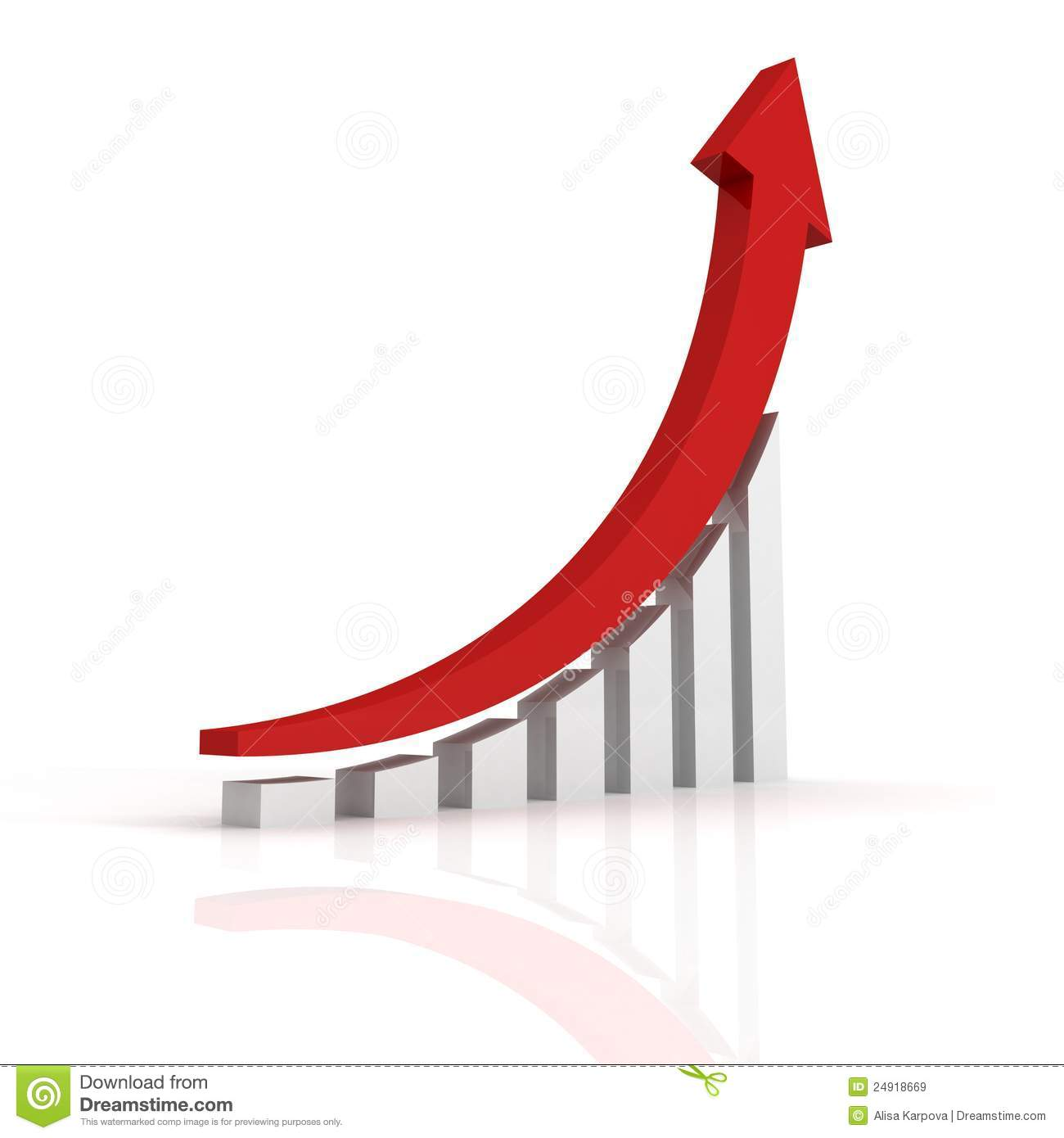 ... Bar Graph With Arrow Royalty Free Stock Images - Image: 24918669: www.dreamstime.com/royalty-free-stock-images-success-business...