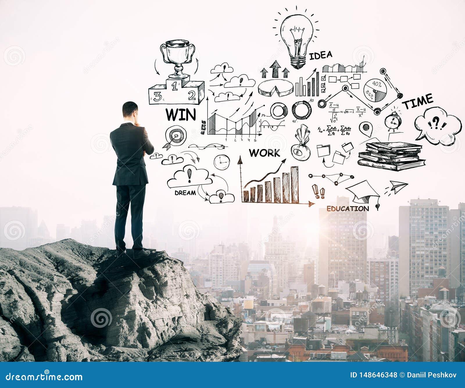 Success and idea concept