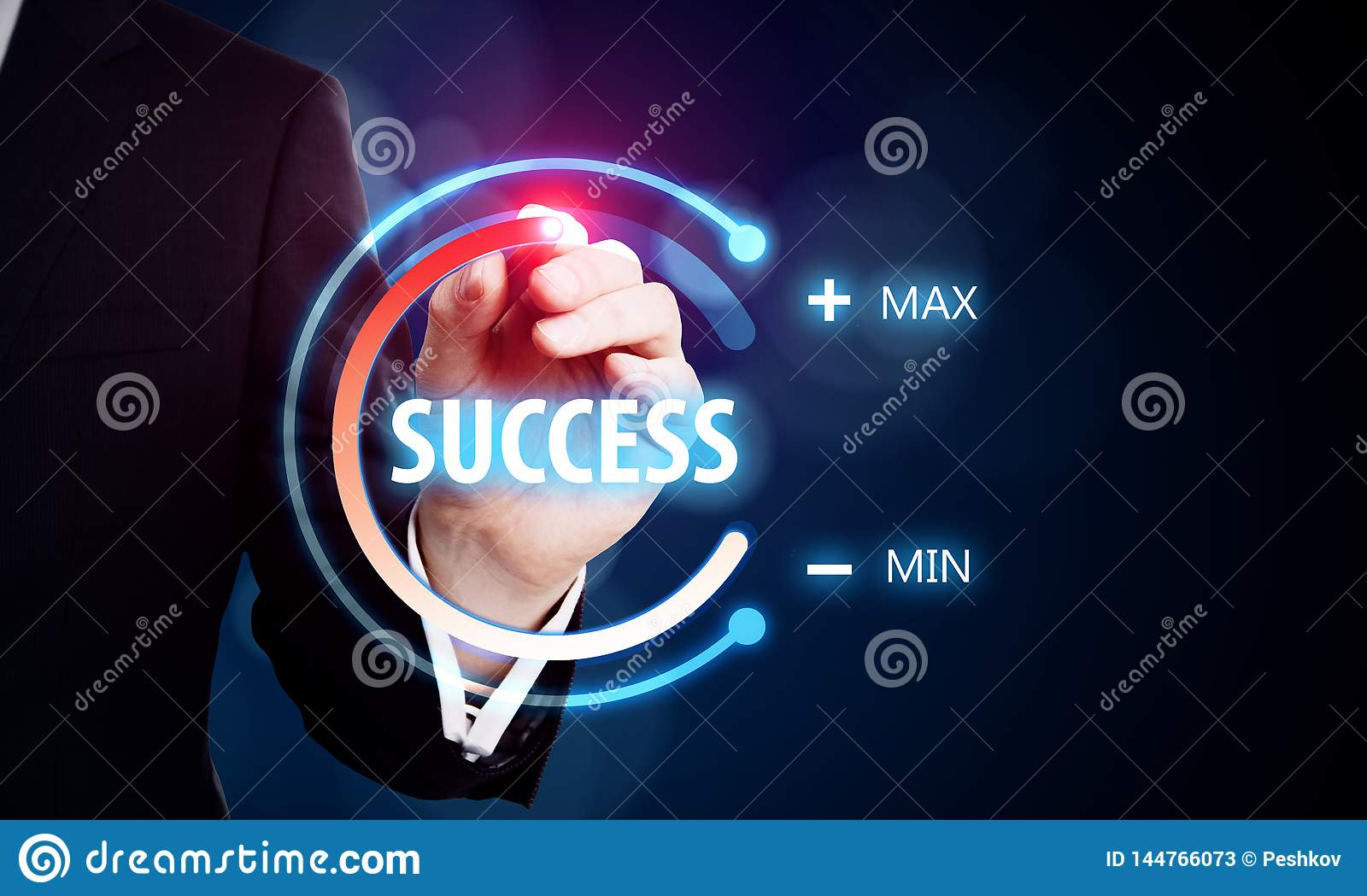 Success and innovation concept