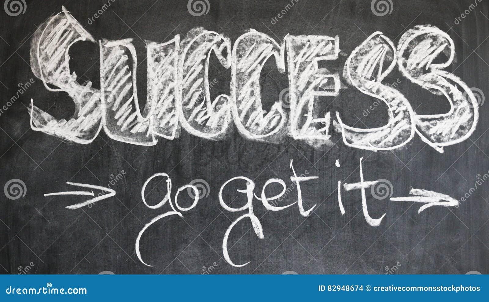 Success inspirational message