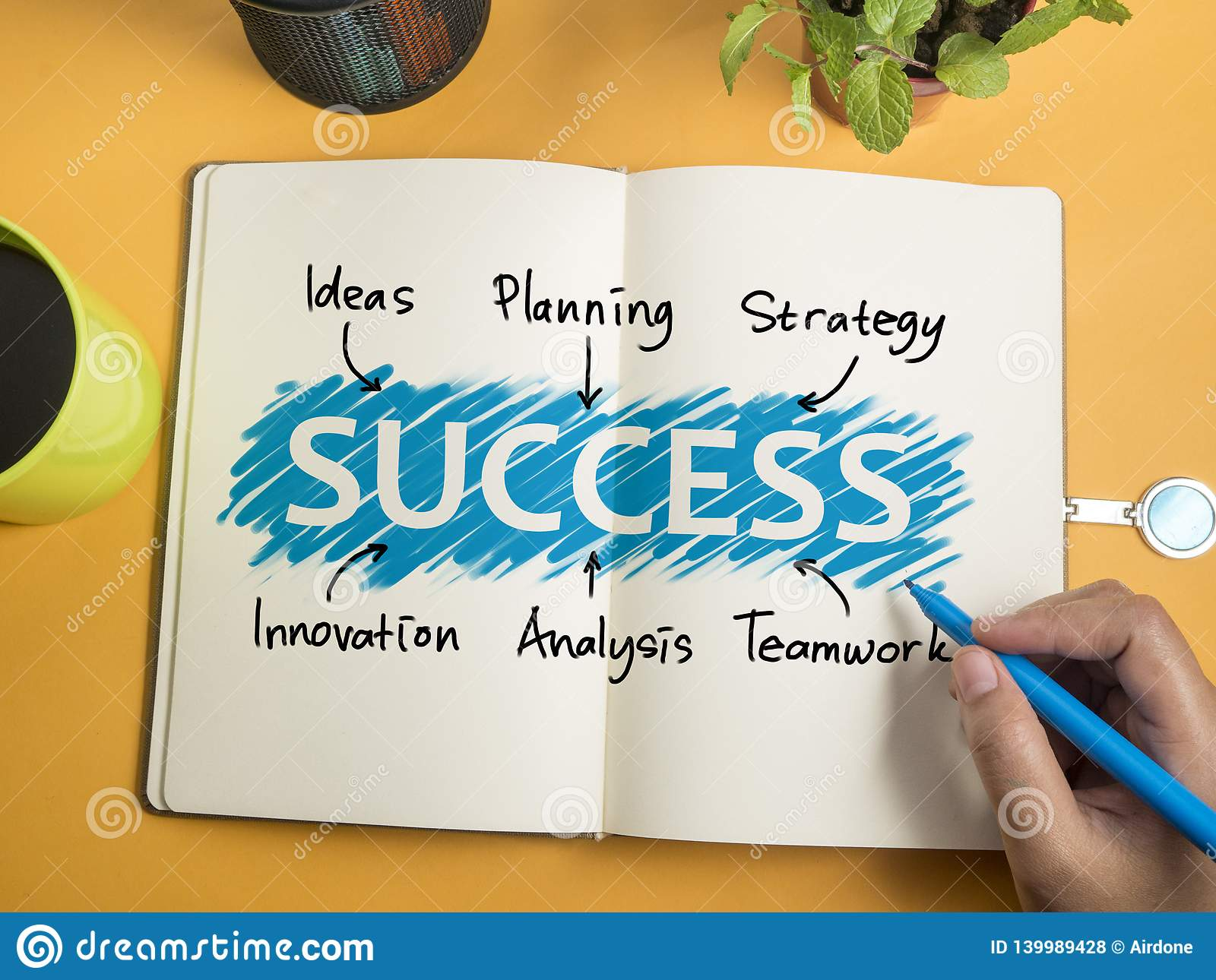 Success Motivational Words Quotes Concept Stock Photo Image Of