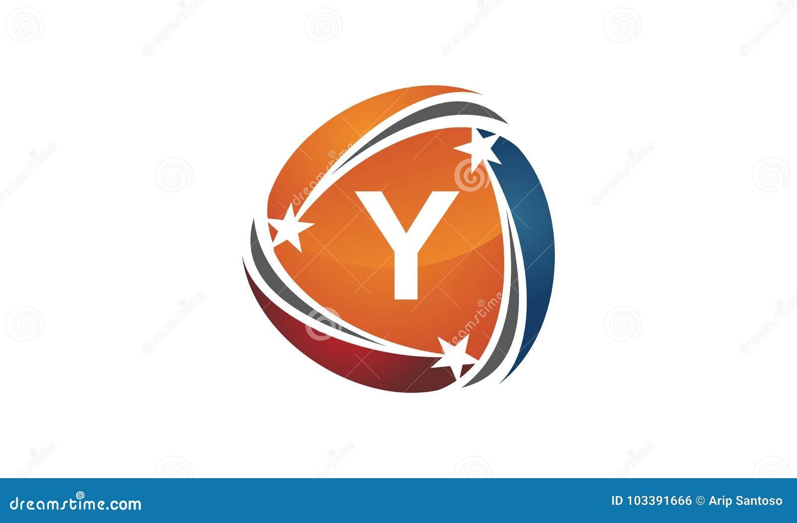 success solution letter y logo design template