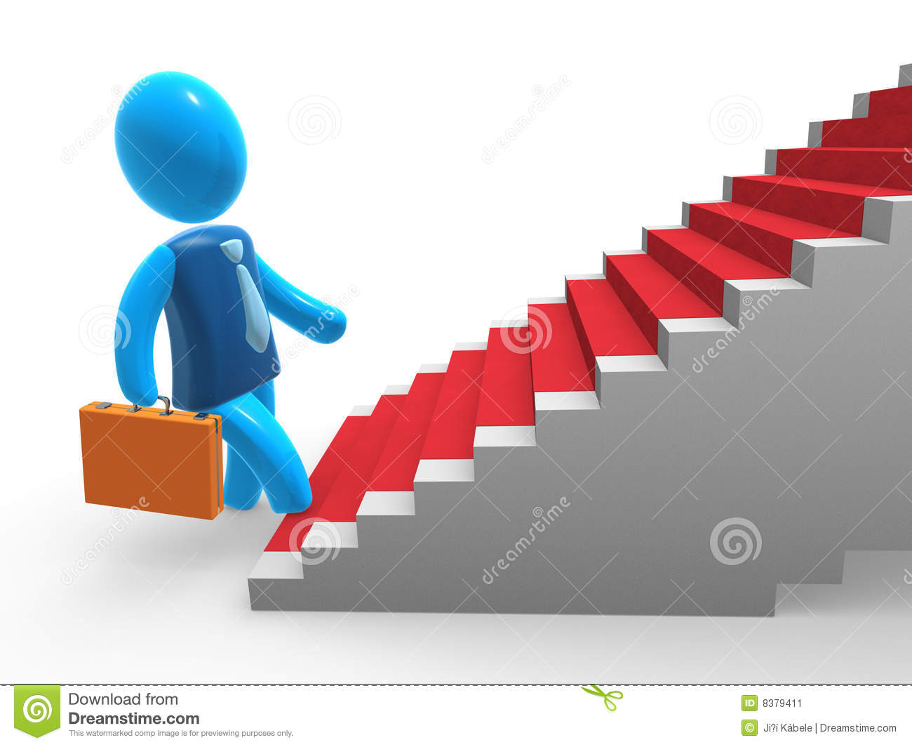 success stairs stock image