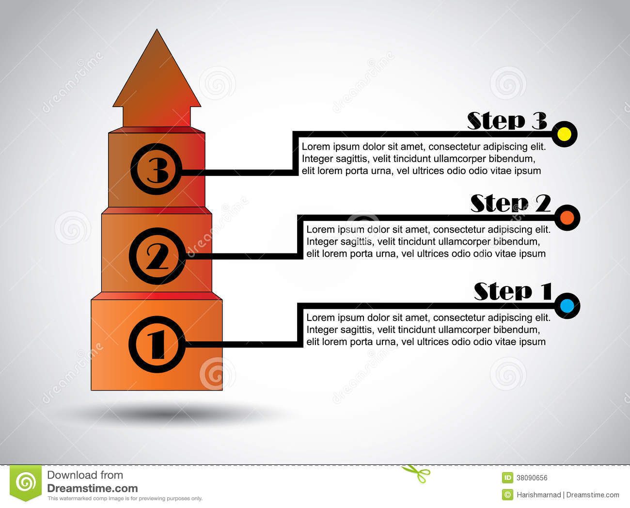 Success steps business proposal infographics successful