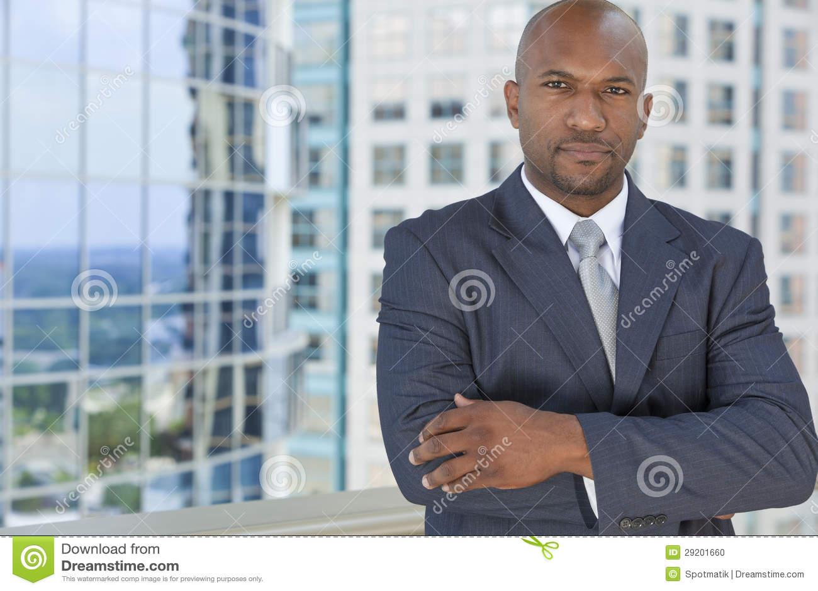 Successful African American Man or Businessman