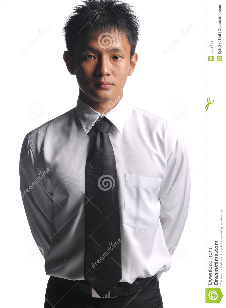 WANT asian business man position