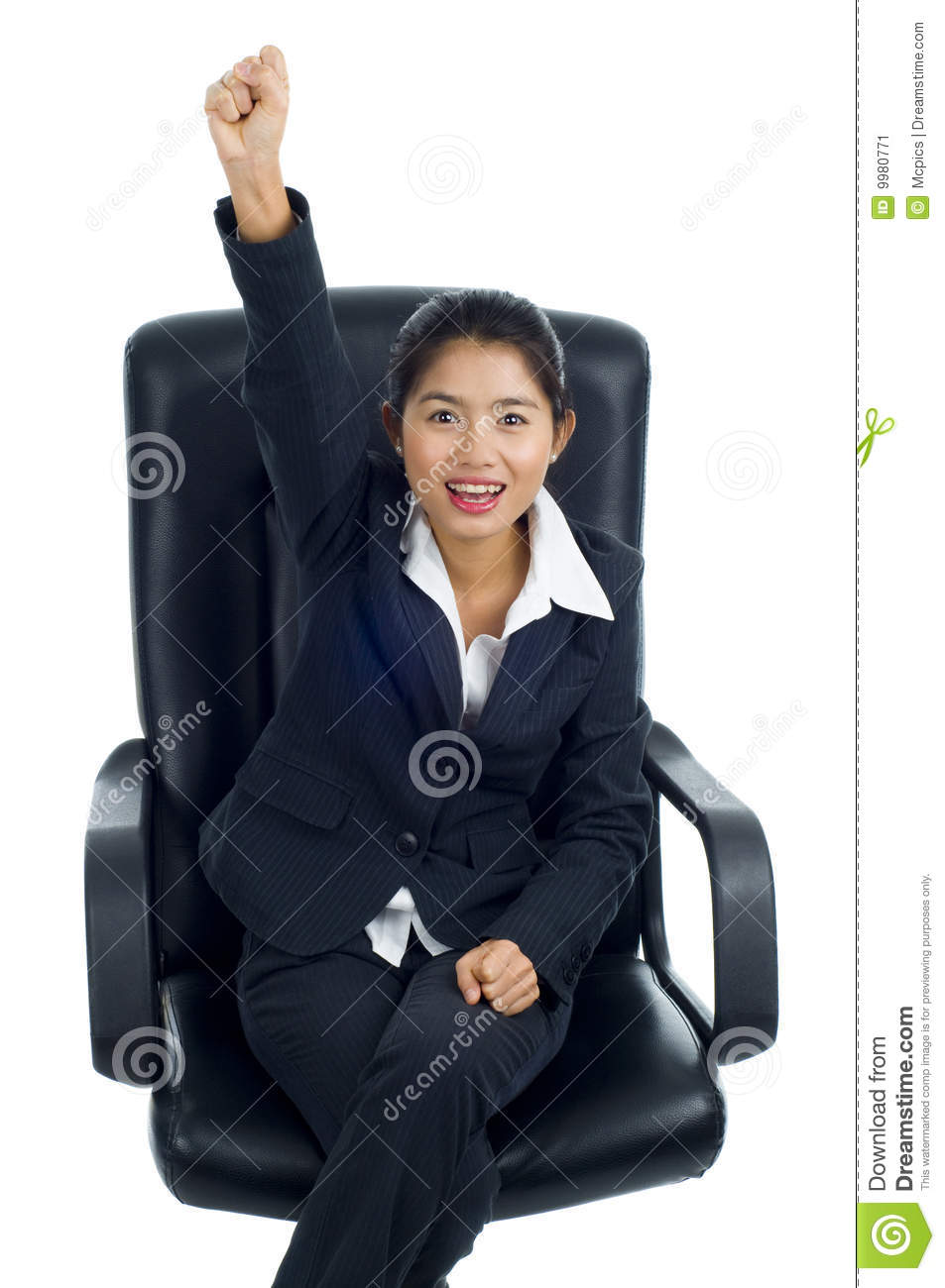 Successful Asian Business Woman Stock Image - Image: 9980771