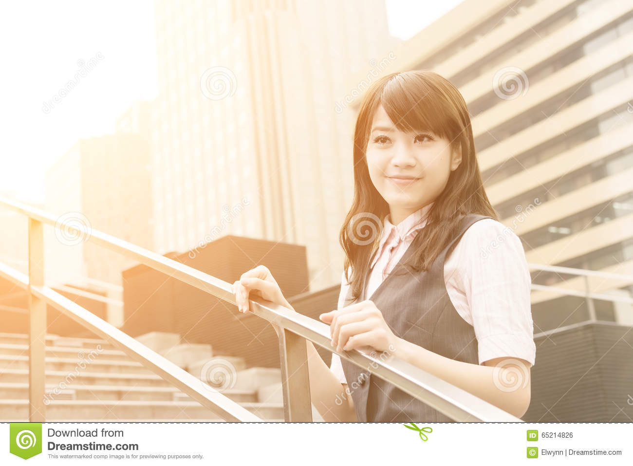 Successful Business Woman Stock Photo - Image: 65214826