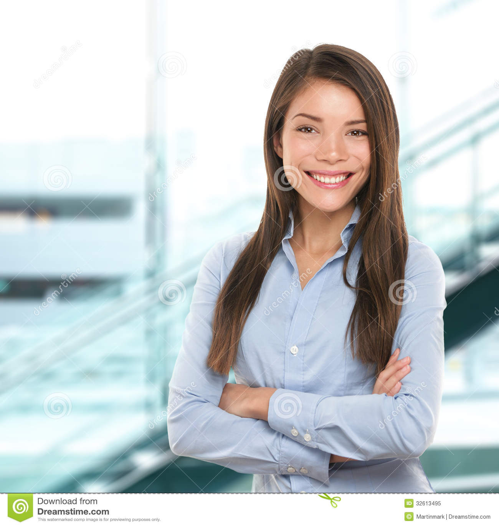 Successful Business Woman Confident Portrait Royalty Free ...