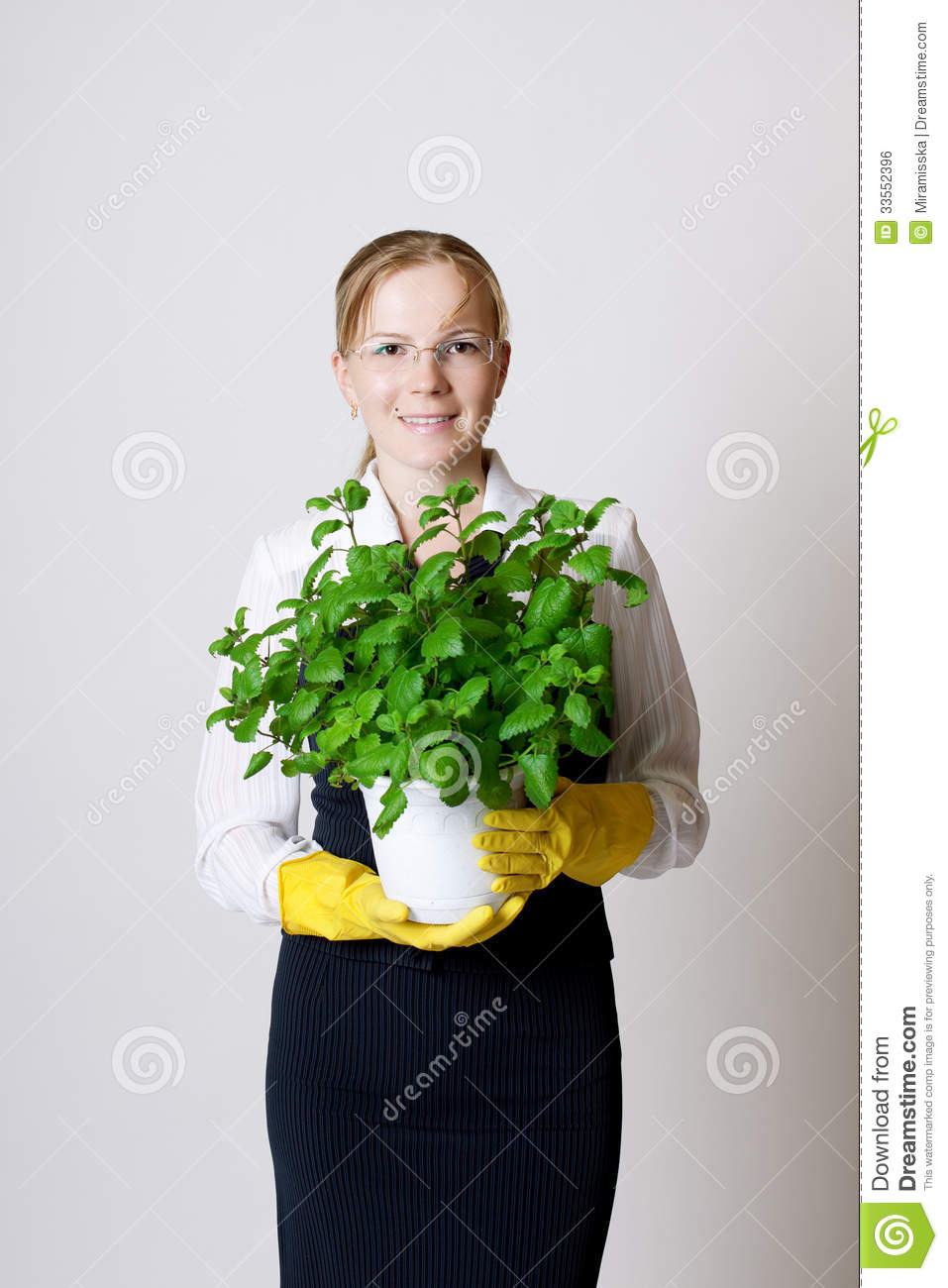 Successful business woman royalty free stock image image 33552396 - Successful flower growing business ...