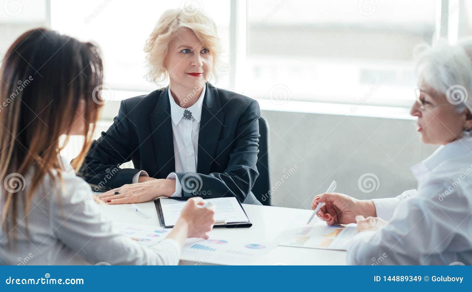 Successful business women meeting report