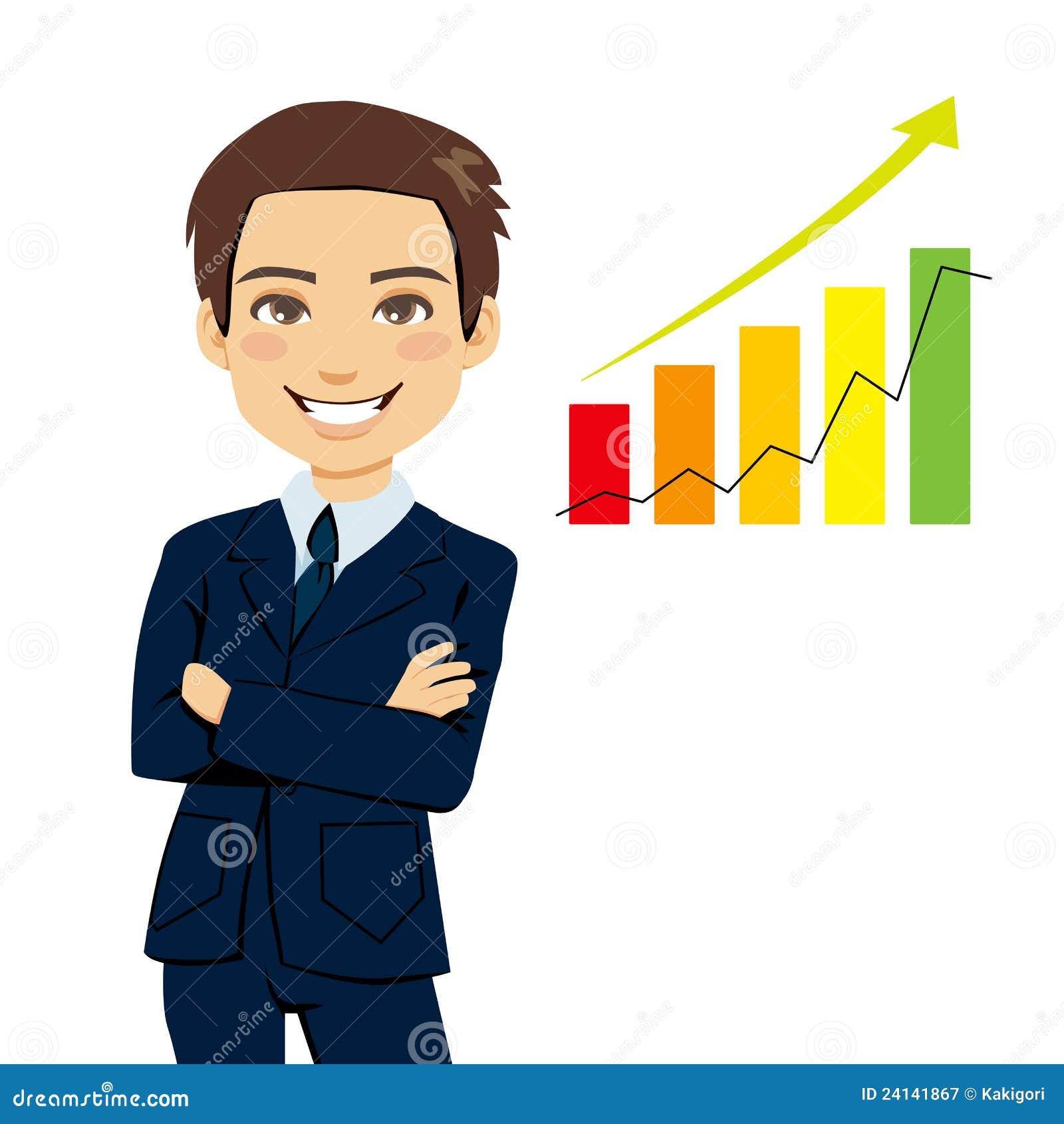 Successful Businessman stock vector. Illustration of ...