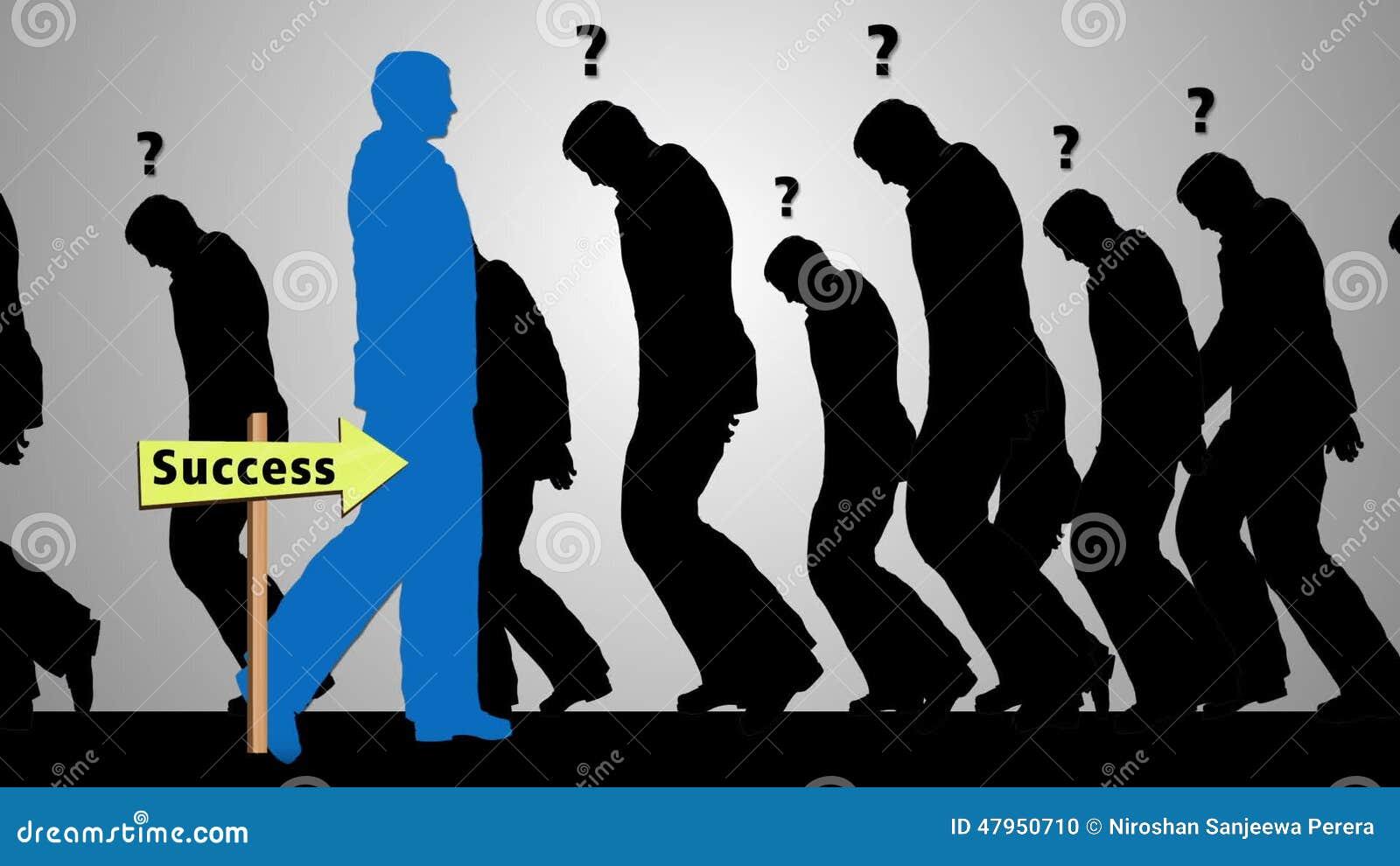 Successful Businessman Silhouette Walking Toward Success Stock Footage Video Of Business Executive 47950710