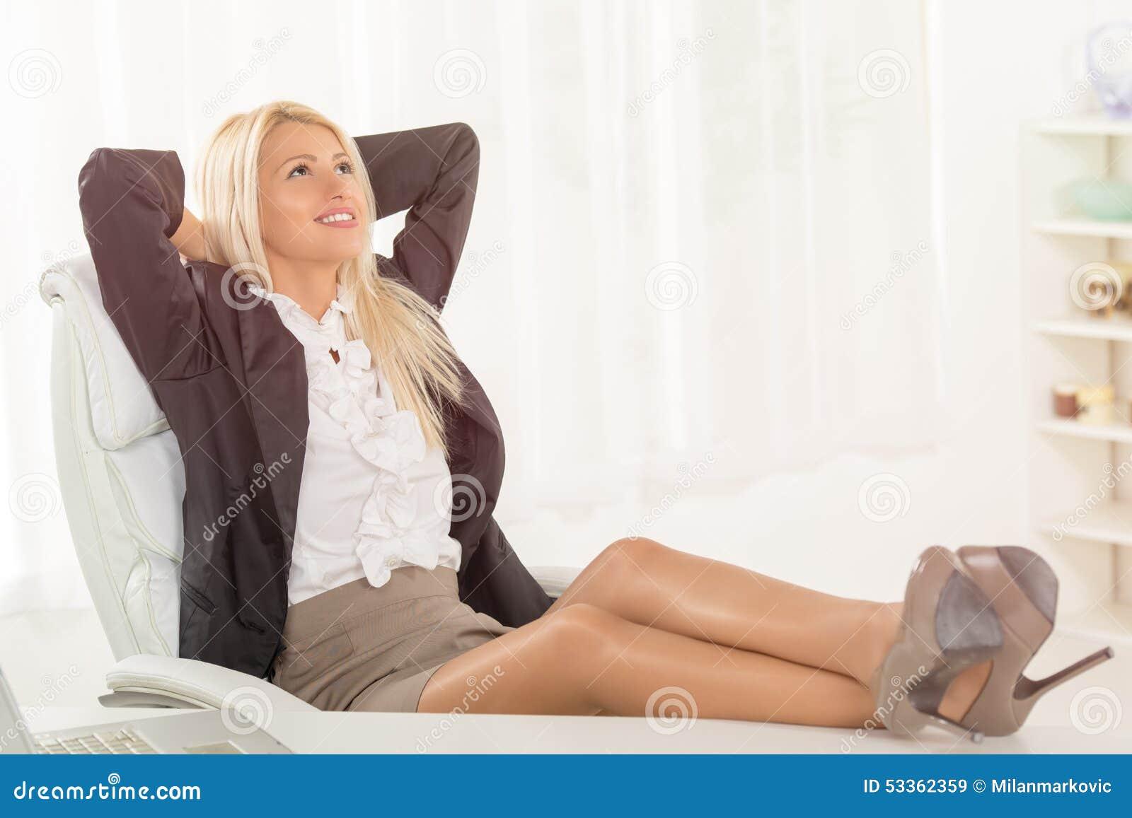 Successful Businesswoman Stock Photo Image 53362359