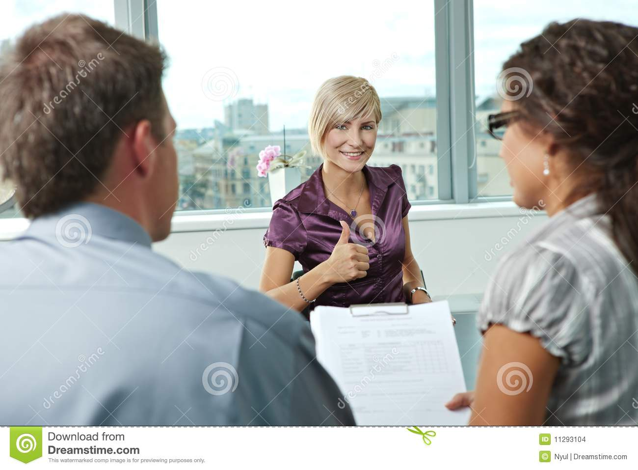 successful job interview stock images image 11293104 successful job interview