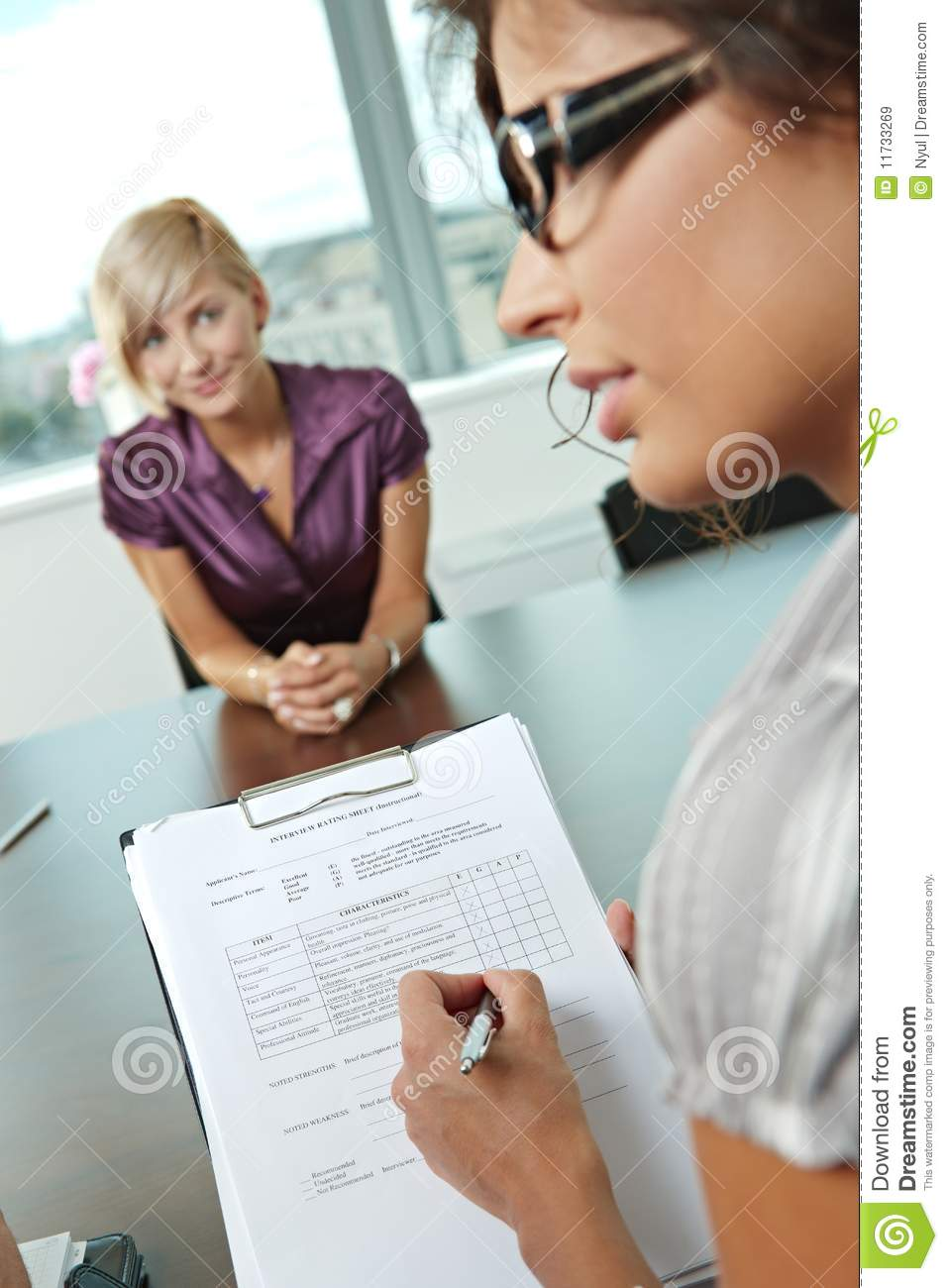 successful job interview royalty stock images image 11733269 successful job interview